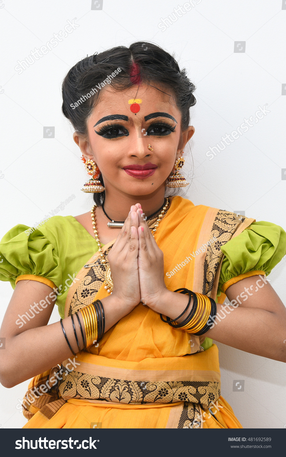 Royalty Free Beautiful Young Indian Girlwomenkid 481692589 Stock