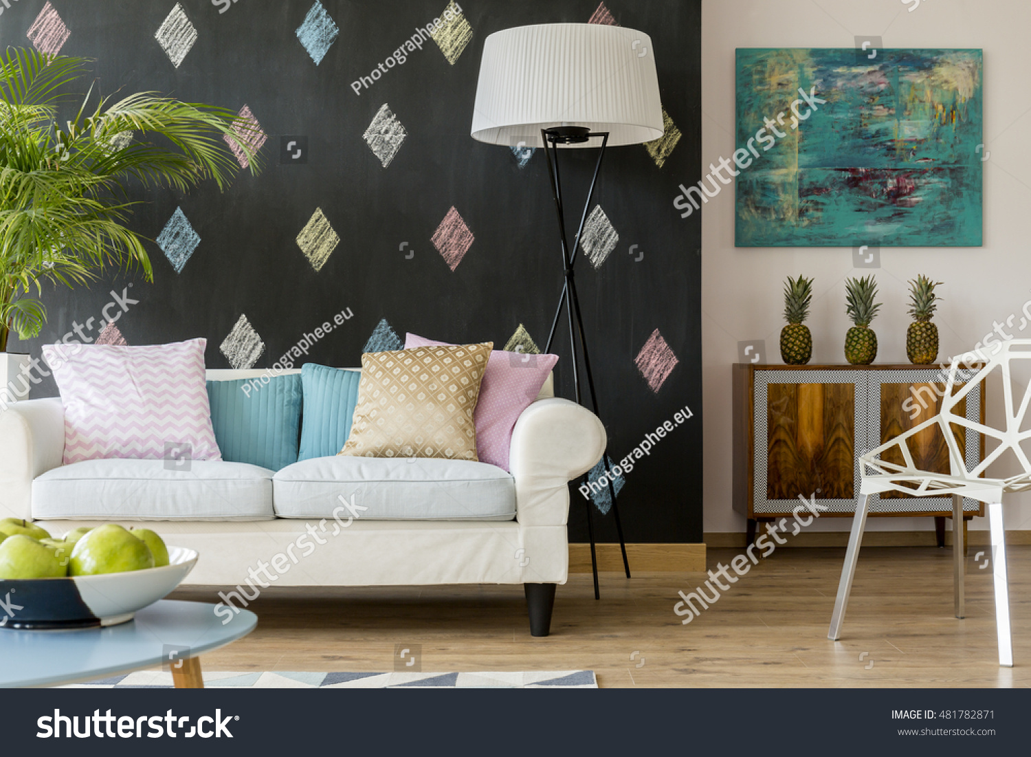 Cozy Modern Living Room shot cozy modern living room big stock photo 481782871 - shutterstock