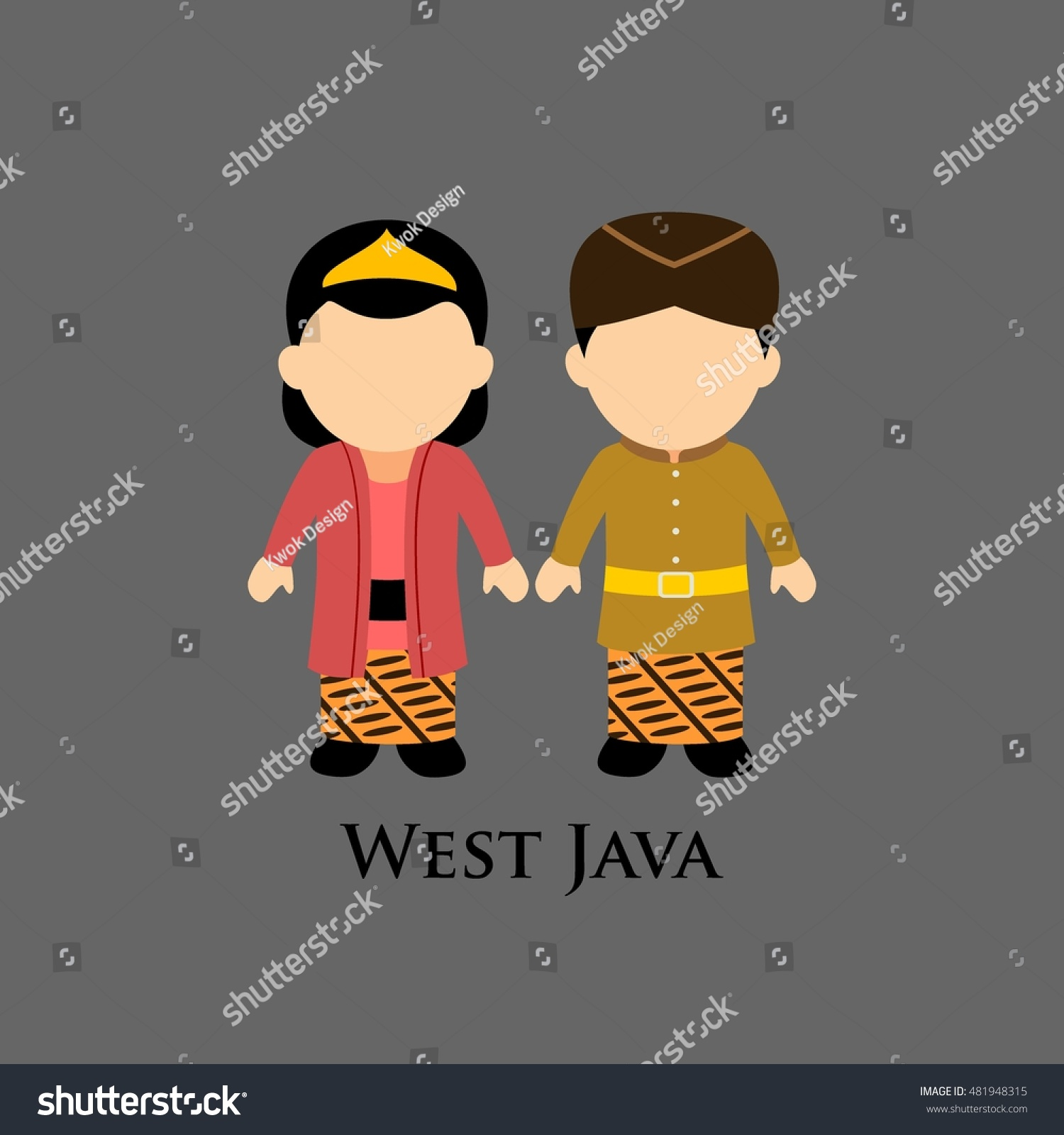 Indonesian boys and girls in west java traditional costume learning diversity and culture around the