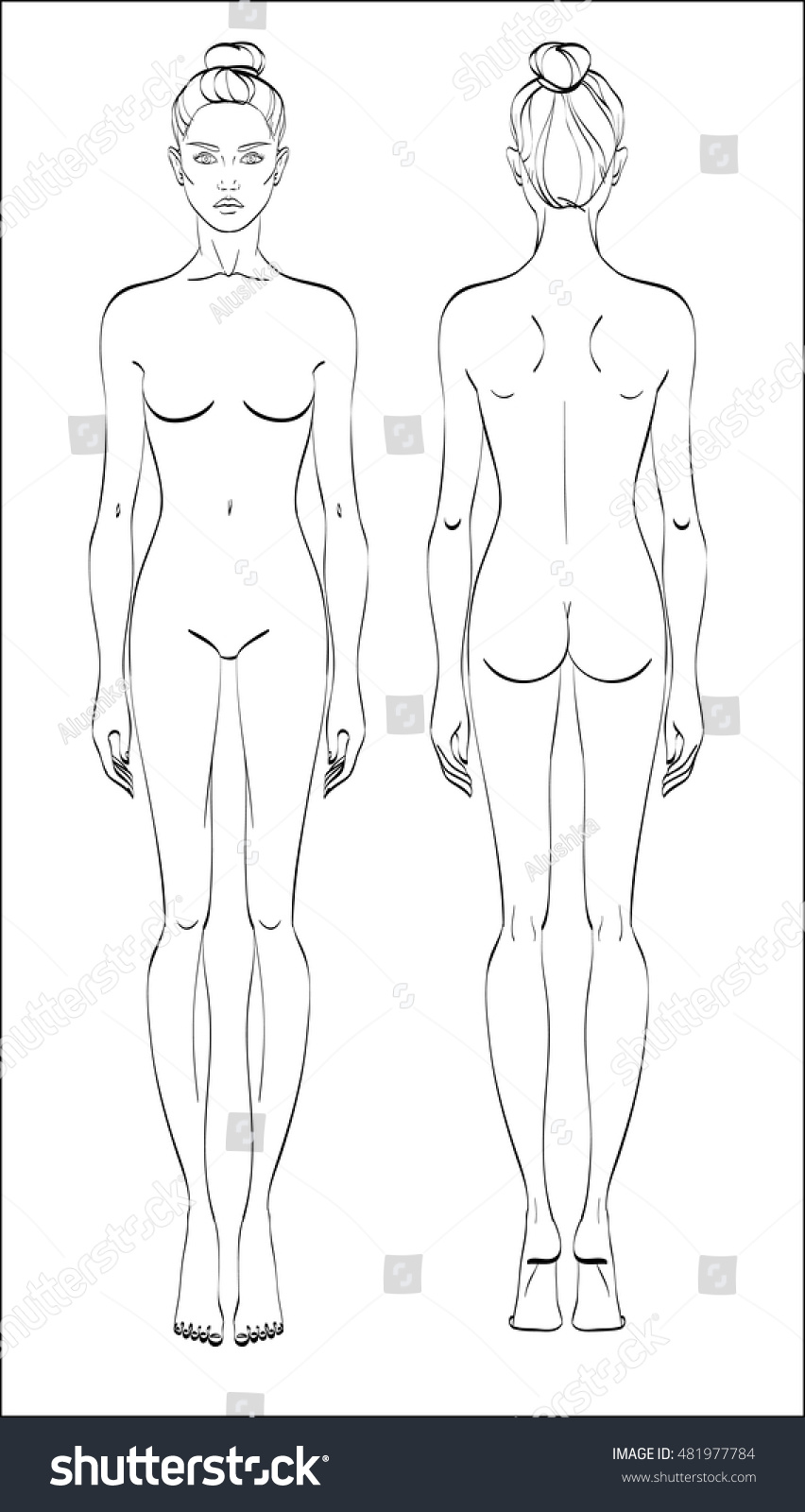 Gallery For Male Body Template For Costume Design For School