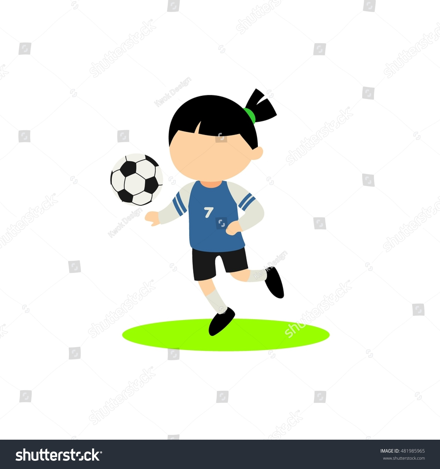 cartoon kids playing various sports vector stock vector 481985965