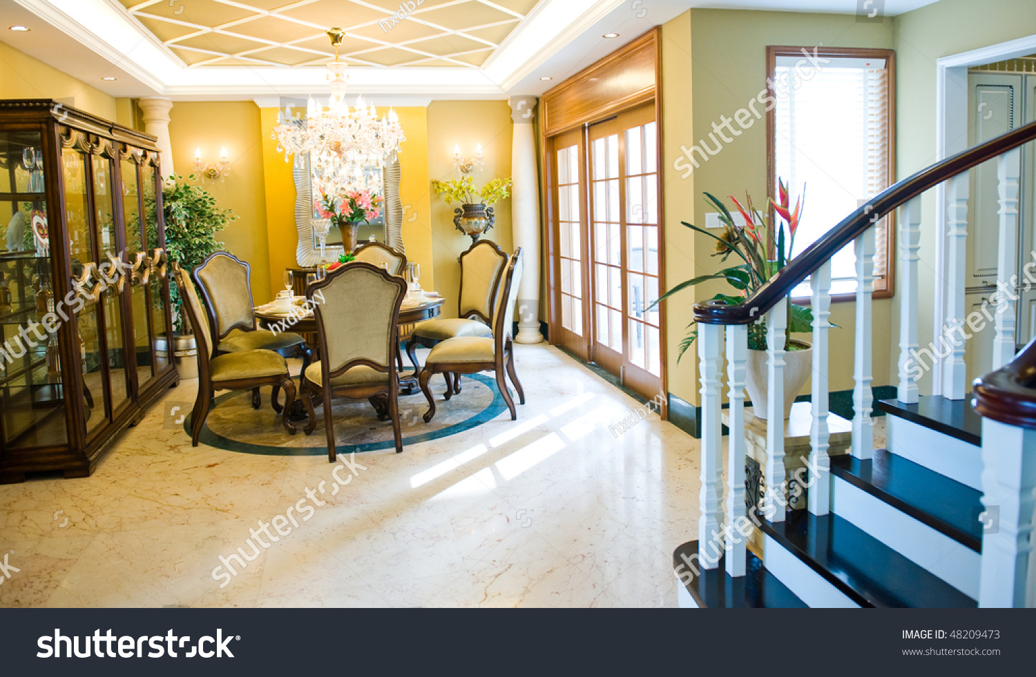 well decorated formal dining room in a luxury home stock sleigh bells ring houses bling gallery of well decorated
