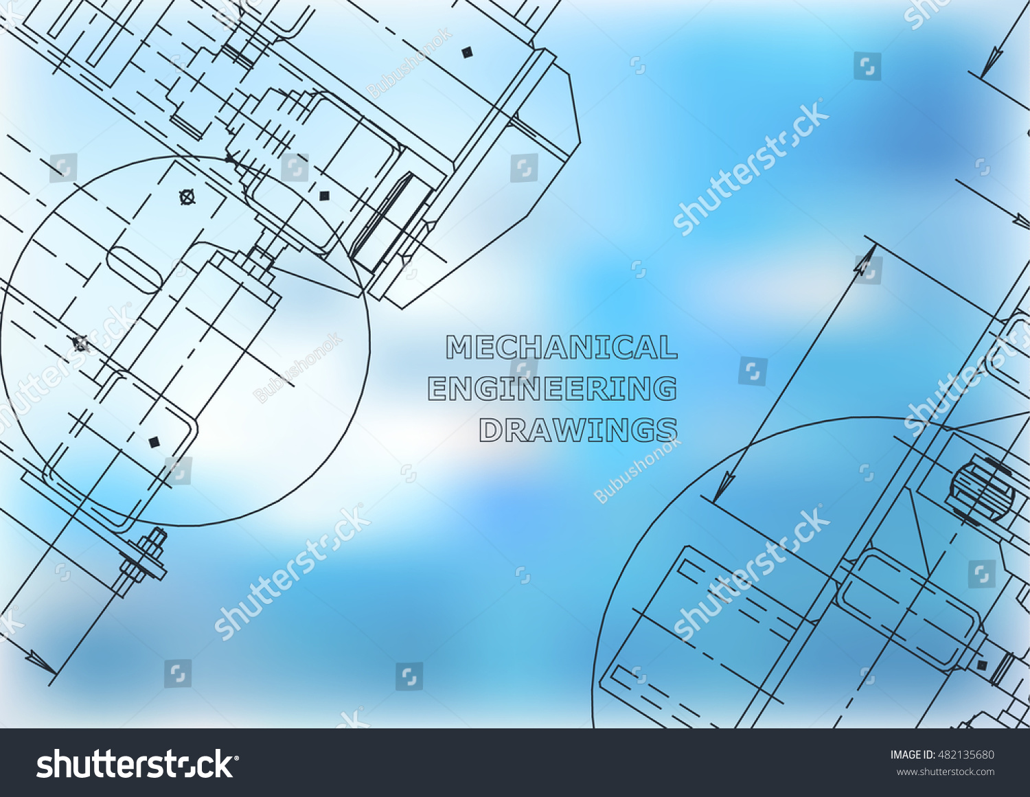 Blueprints mechanics cover blue mechanical engineering stock blueprints mechanics cover blue mechanical engineering drawing engineering design construction malvernweather