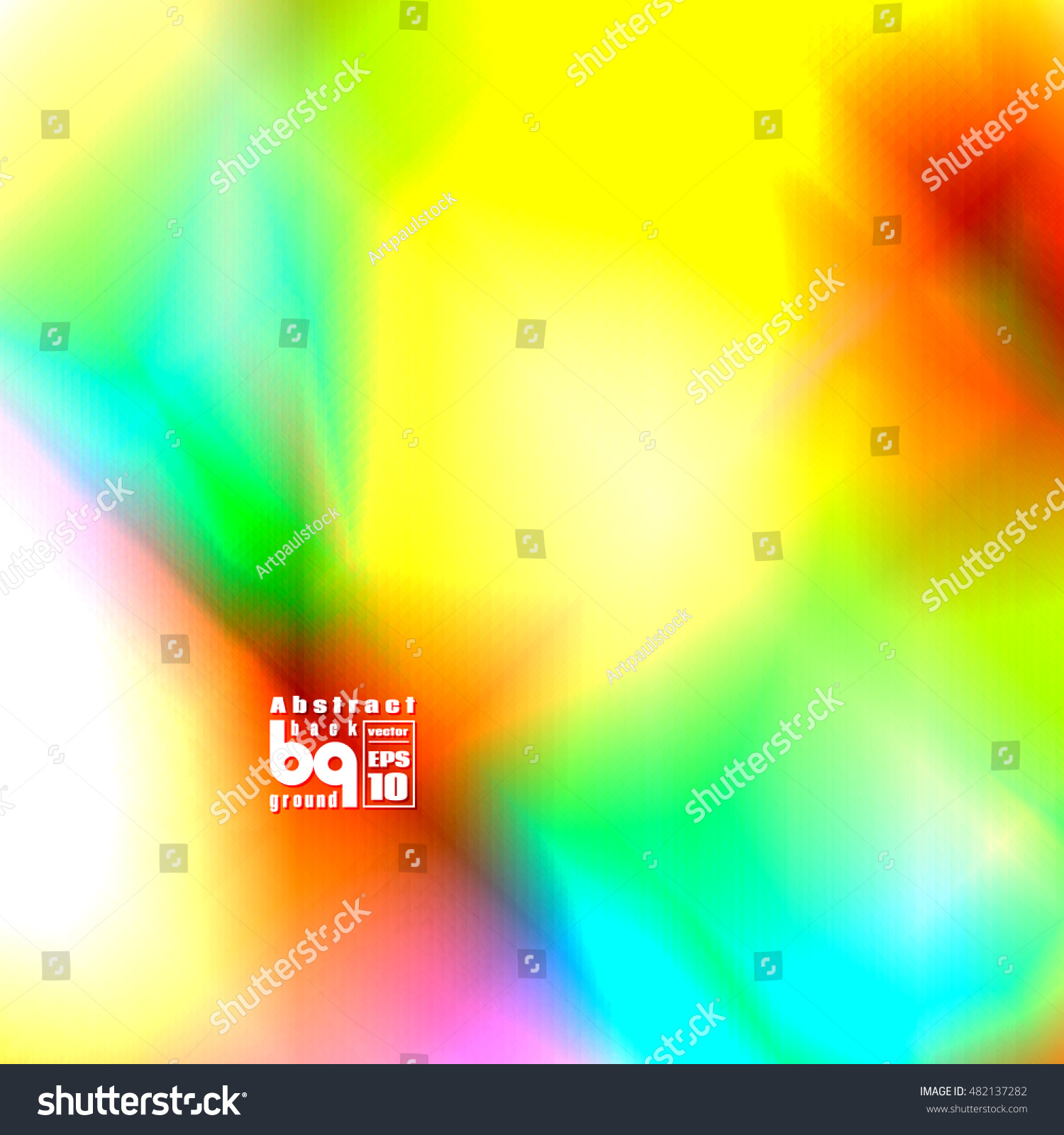 Background Flash Abstract Infinity Vector Illustration