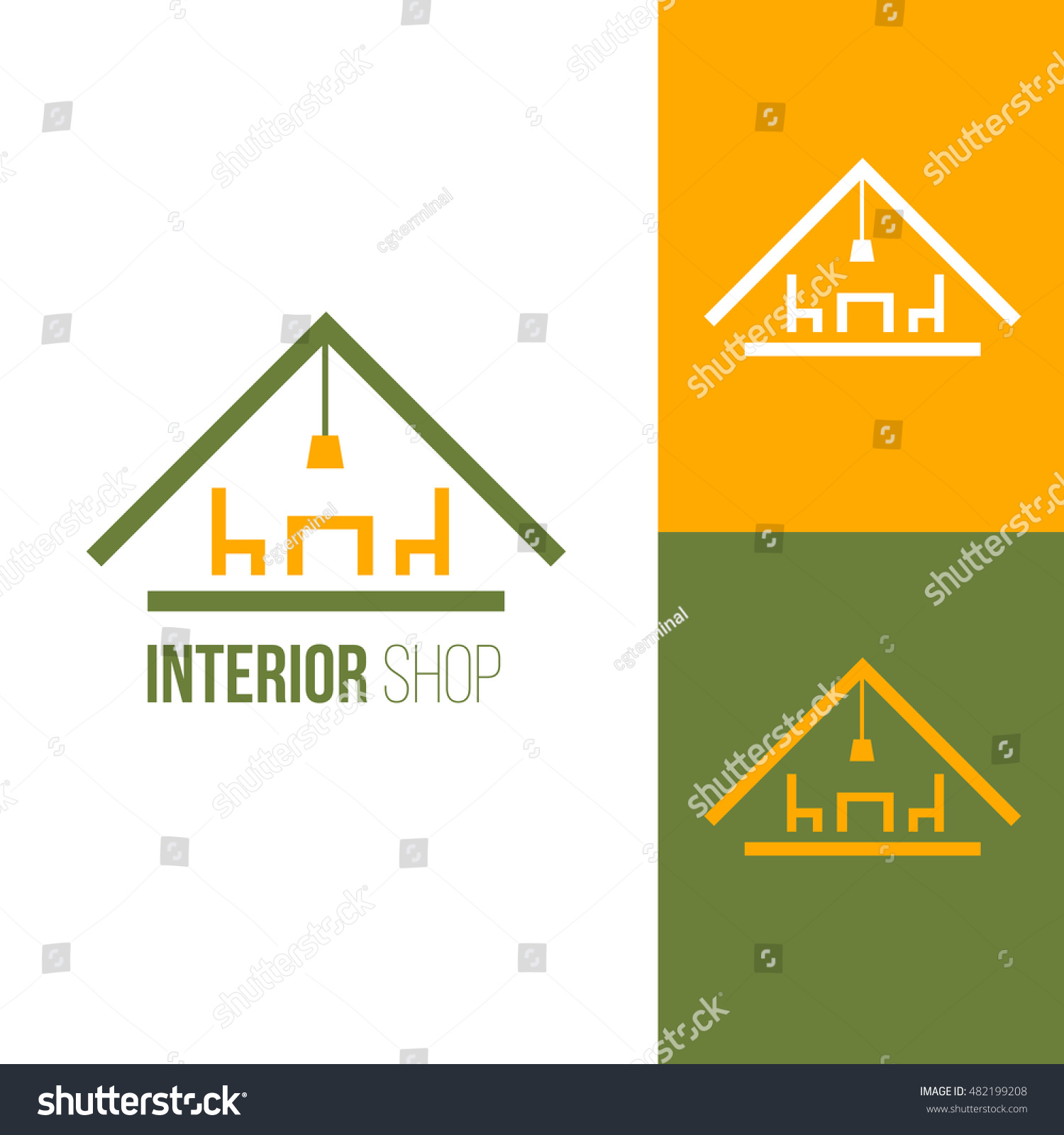 Furniture logo inspiration - Icon Or Logo Template For Furniture Shop Company Manufacturer Symbol For Corporate Branding