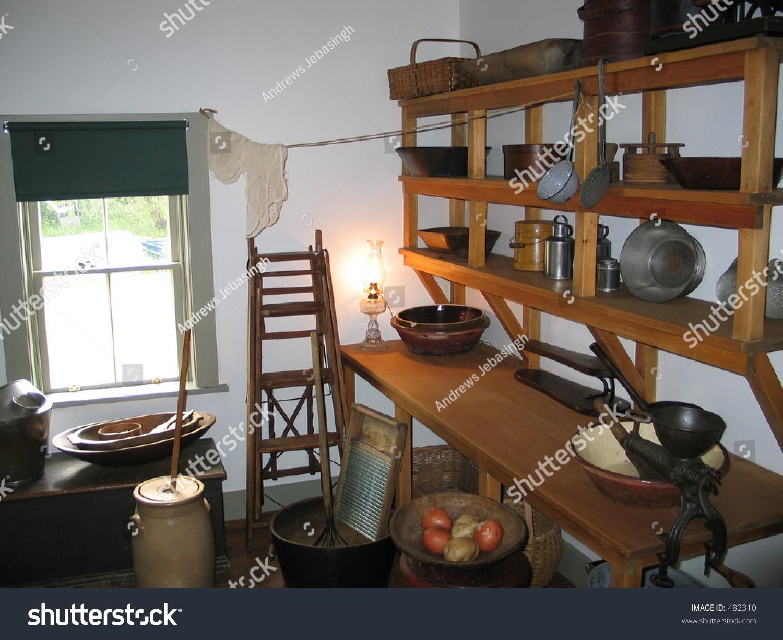 Old Fashioned Kitchen Old Fashioned Kitchen Green Gables Stock Photo 482310 Shutterstock
