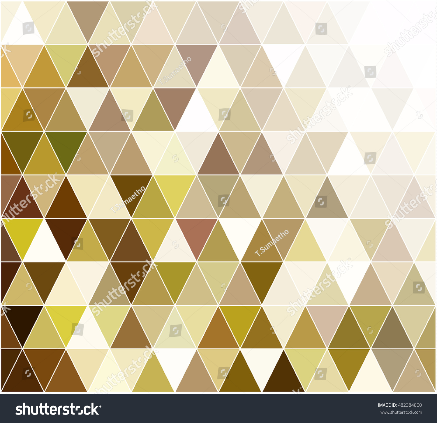 Yellow grid mosaic background creative design stock vector for Designs for mosaics templates