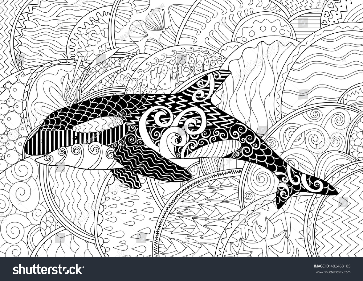 Whale | Free Printable Templates & Coloring Pages | FirstPalette.com | 1162x1500