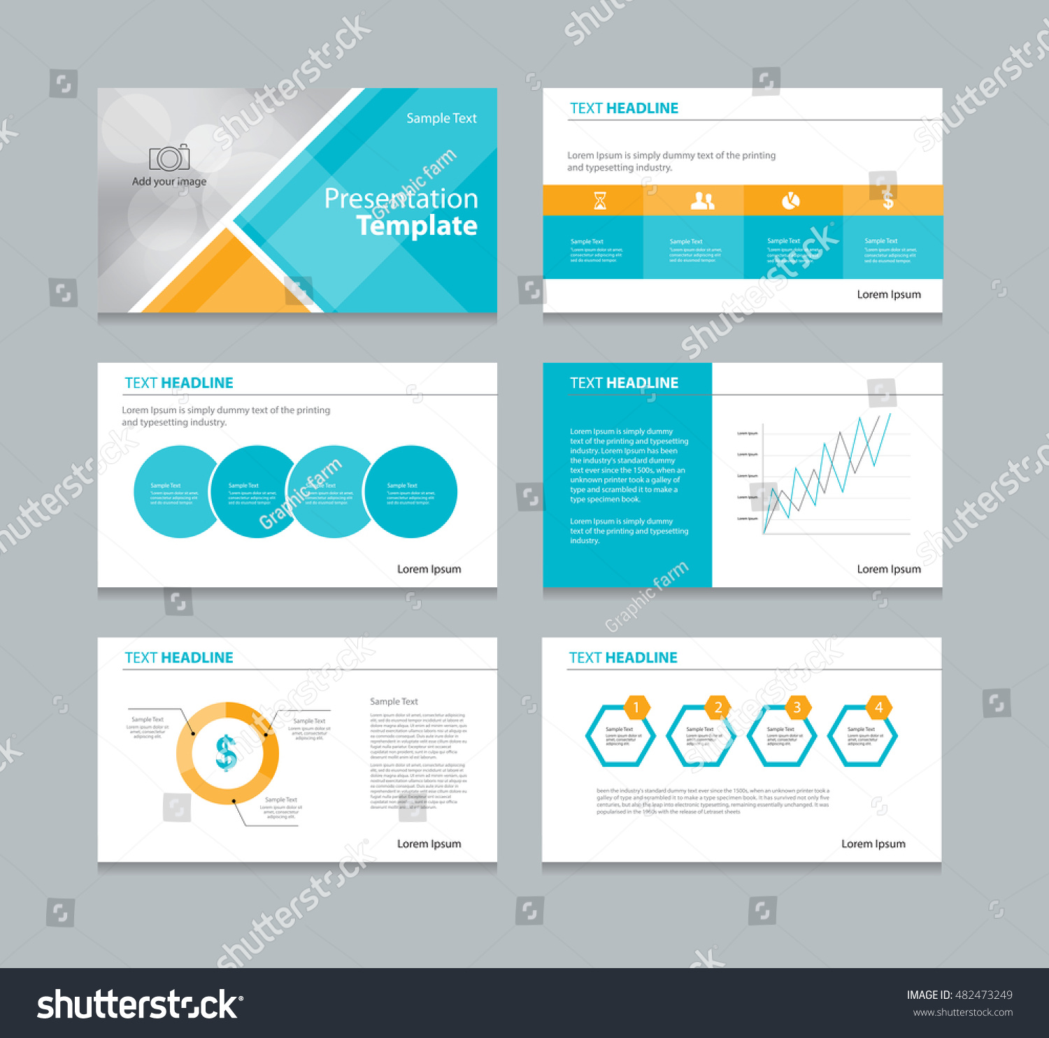 presentation cover page template
