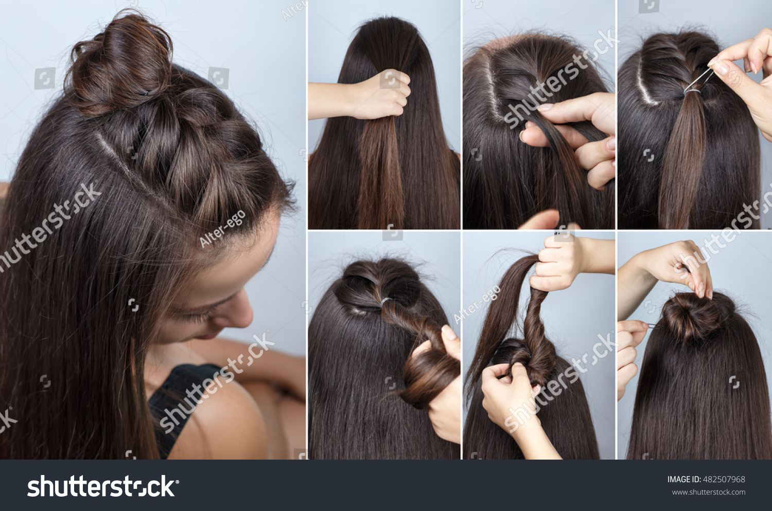 Tutorial Photo Step By Step Simple Stock Photo Edit Now 482507968