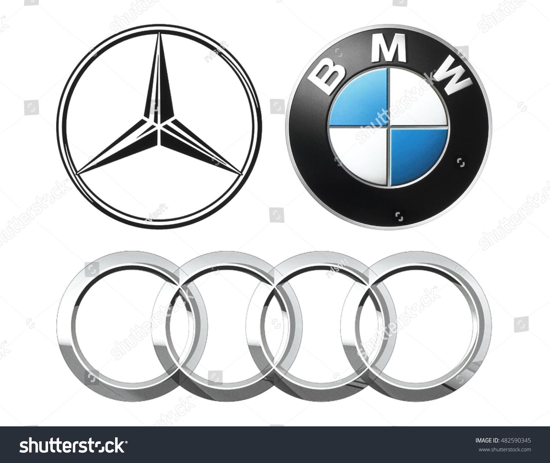 Kiev ukraine september 12 2016 collection stock photo 482590345 kiev ukraine september 12 2016 collection of popular german car logos printed nvjuhfo Choice Image