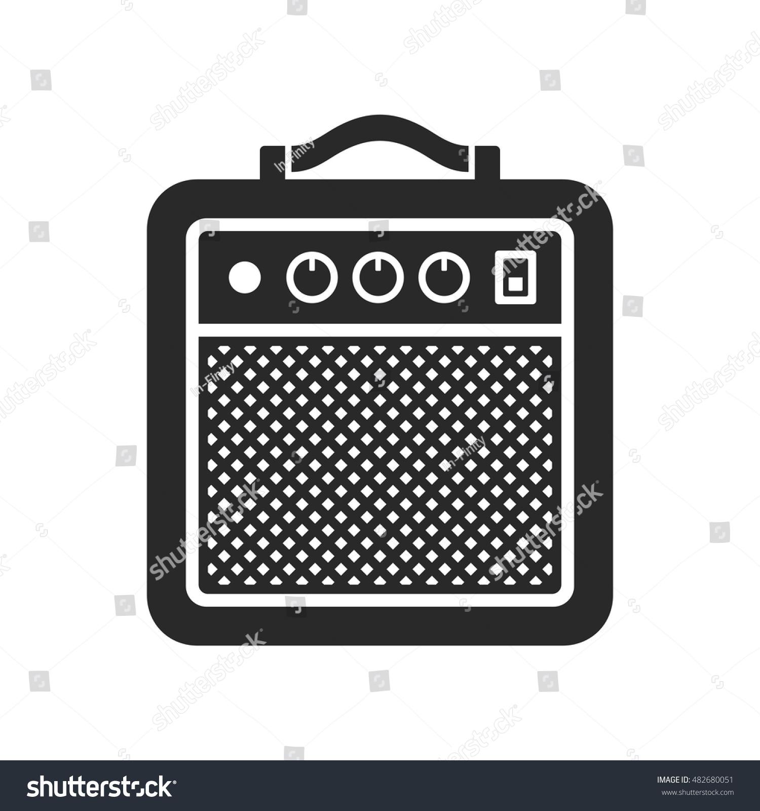 amplifier icon vector stock vector 482680051 shutterstock