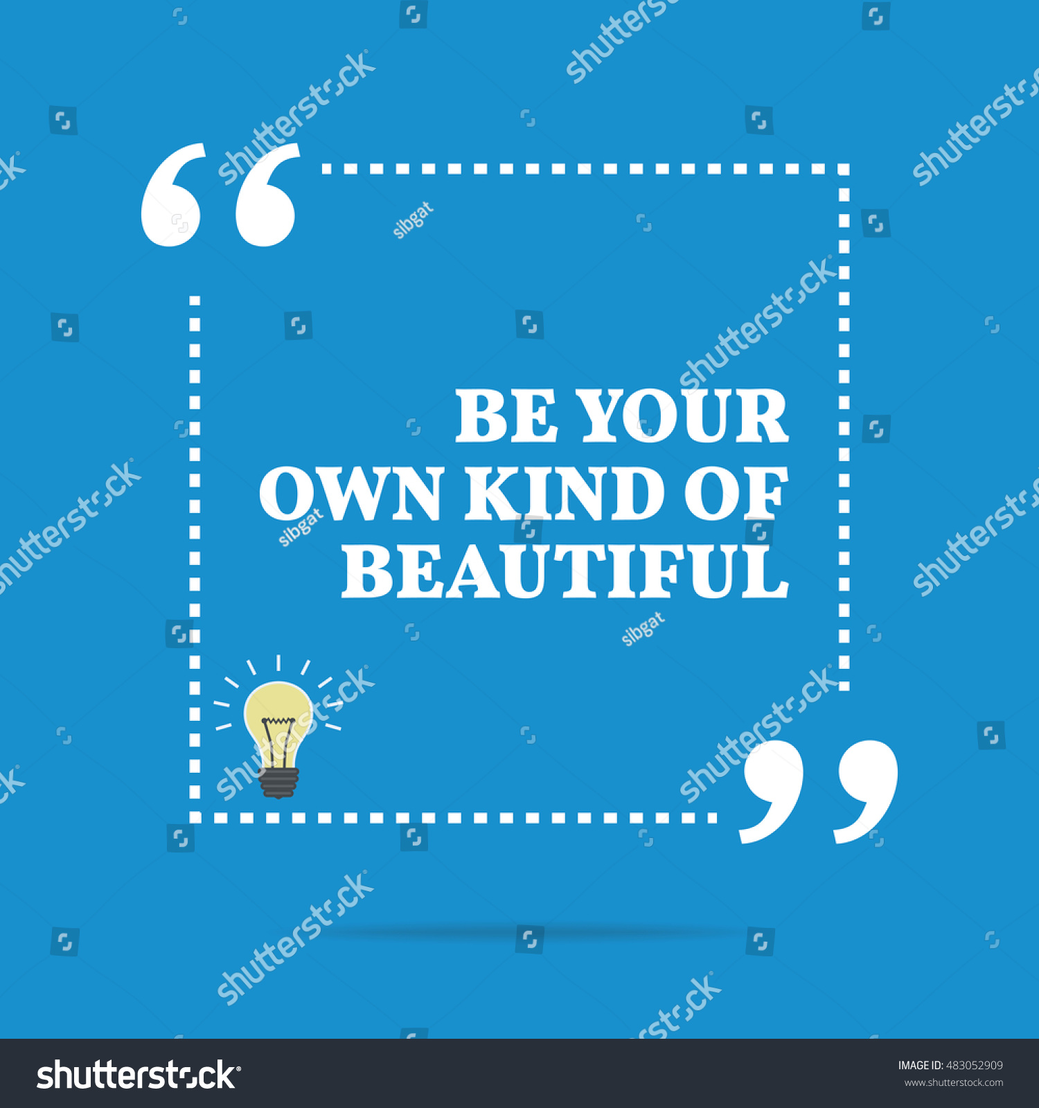 Inspirational Quotes Motivation: Inspirational Motivational Quote Be Your Own Stock