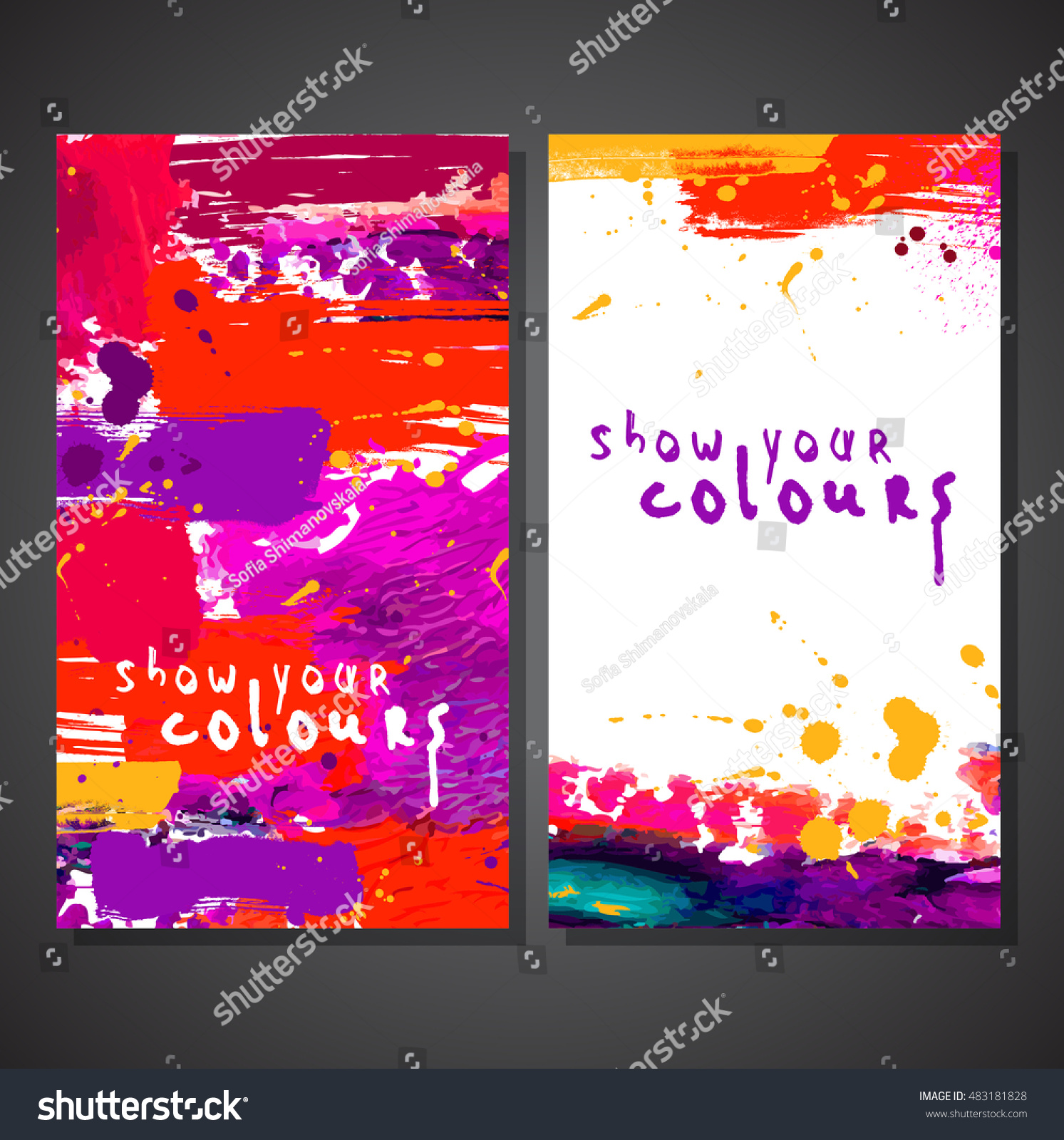 flyer template or invitation paint abstract background flyer template or invitation paint abstract background