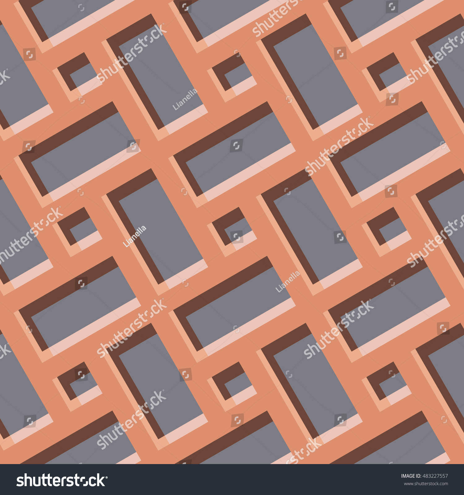 Islamic Geometrical Pattern Arabic Seamless Ornament Stock