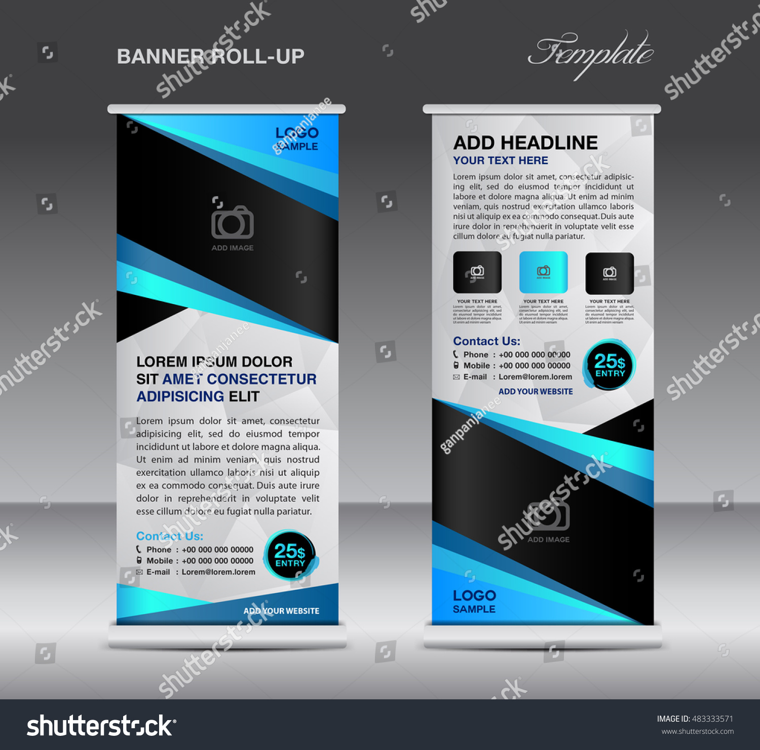 banner stand template stand design blue banner design pull up banner stand template stand design blue banner design pull up flyer template