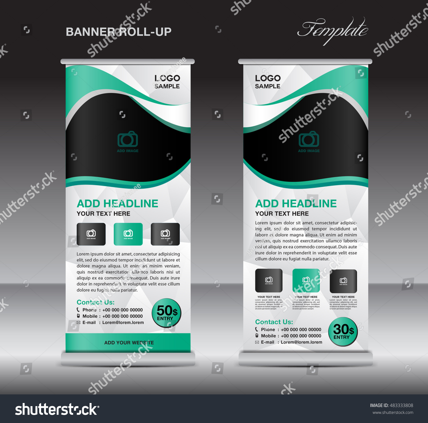 green roll up banner stand template stand design banner design green roll up banner stand template stand design banner design pull up