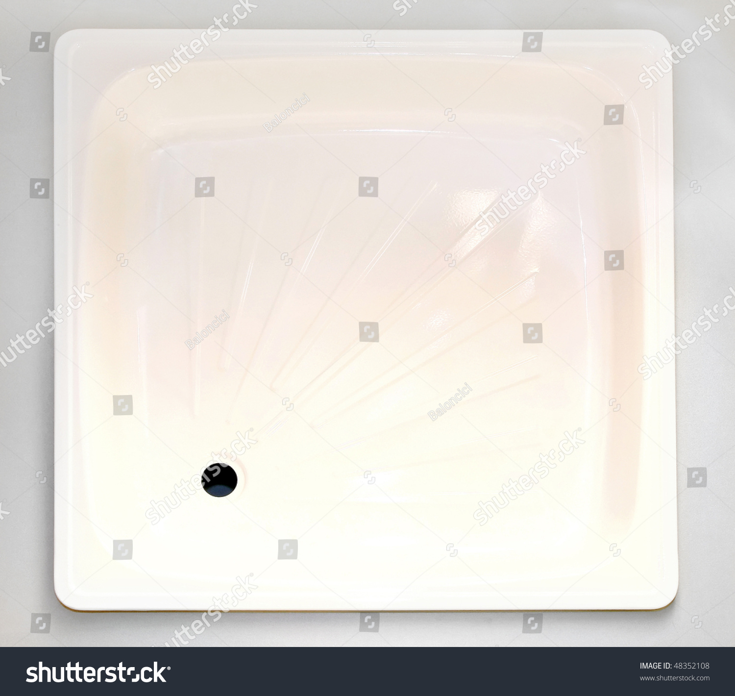 Top view of white shower square base. Top View White Shower Square Base Stock Photo 48352108   Shutterstock