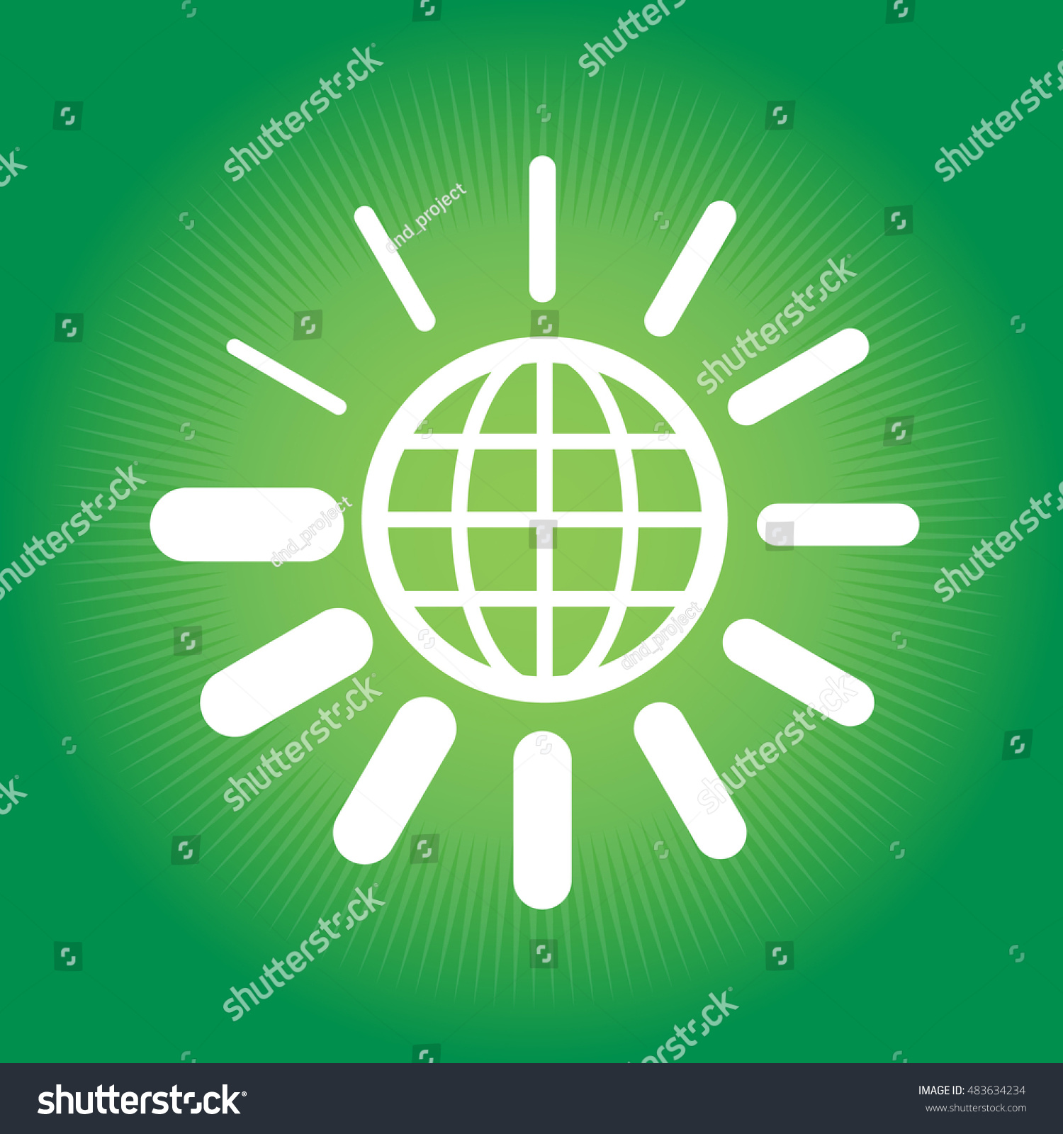 Globe loading symbol stock vector 483634234 shutterstock globe and loading symbol biocorpaavc Image collections