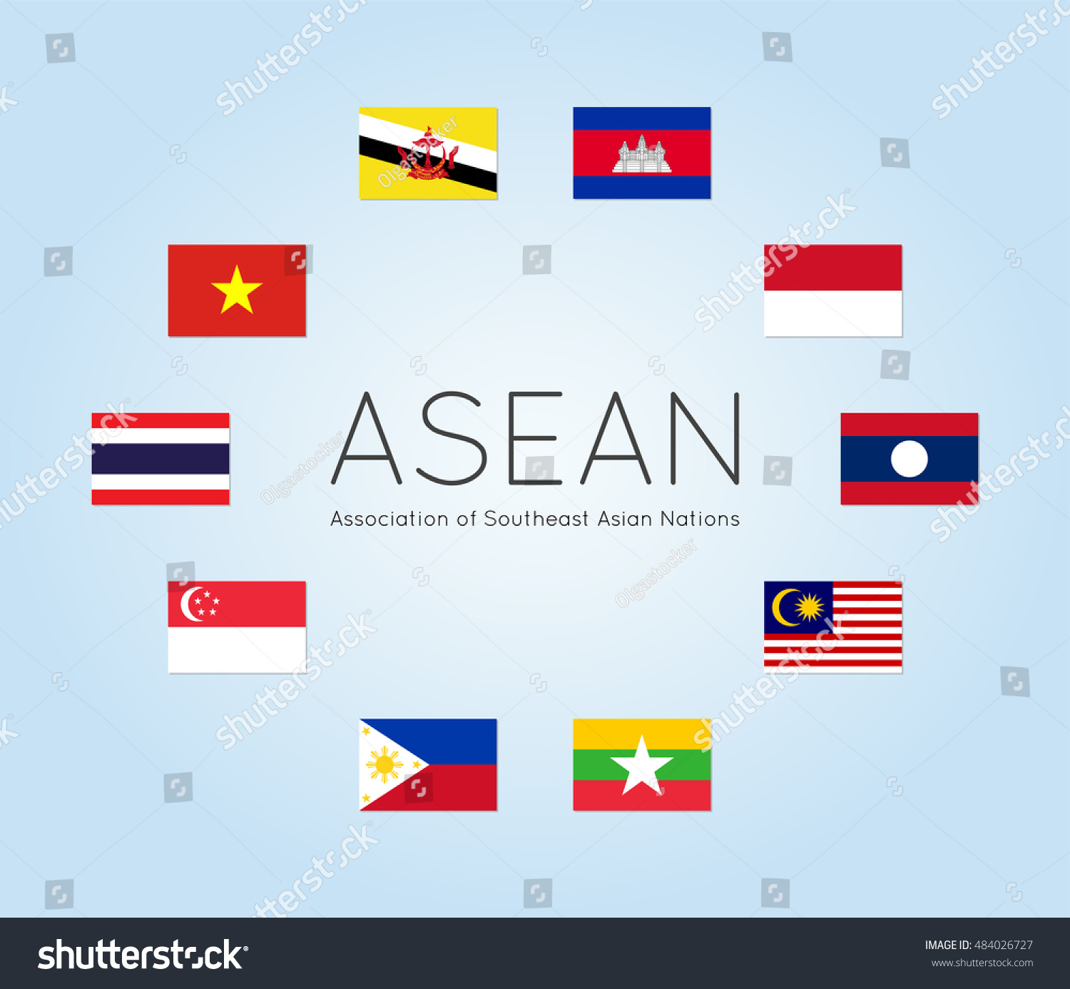 asian countries in world map with Vector Illustration Asean Countries Flags Members 484026727 on Flags further Four Asian Tigers Powerpoint Template likewise India Naan further Asia Maps History also Governance.