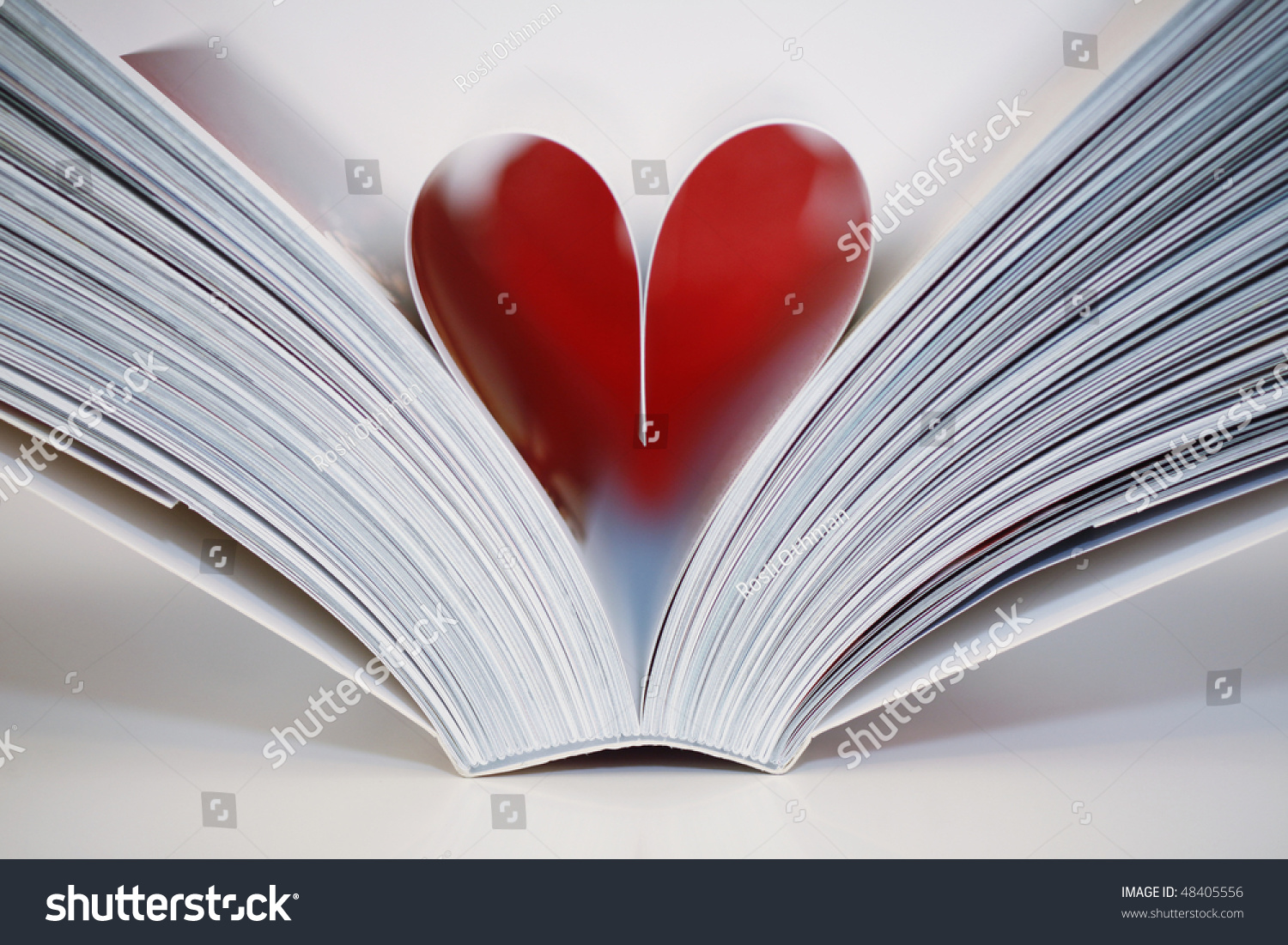 Open book heart symbol middle love stock photo 48405556 shutterstock open book with a heart symbol in the middle i love reading buycottarizona Gallery