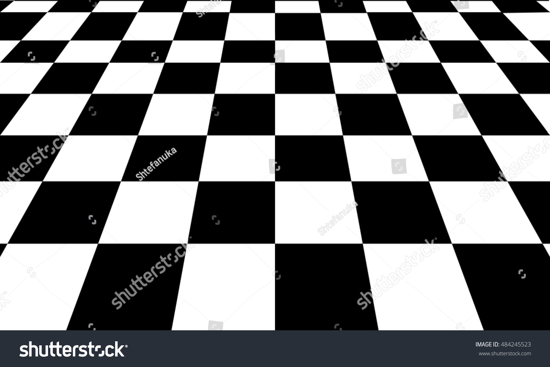 background black white chess board stock vector 484245523