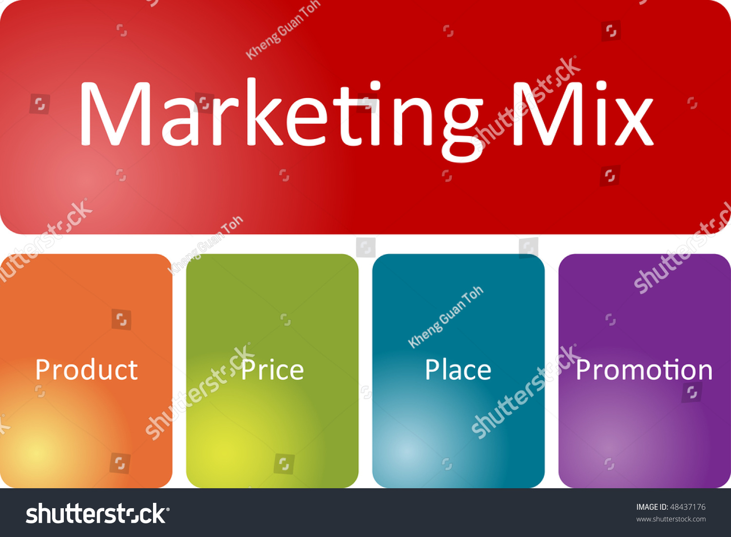 marketing mix business diagram management strategy concept chart    marketing mix business diagram management strategy concept chart illustration preview  save to a lightbox