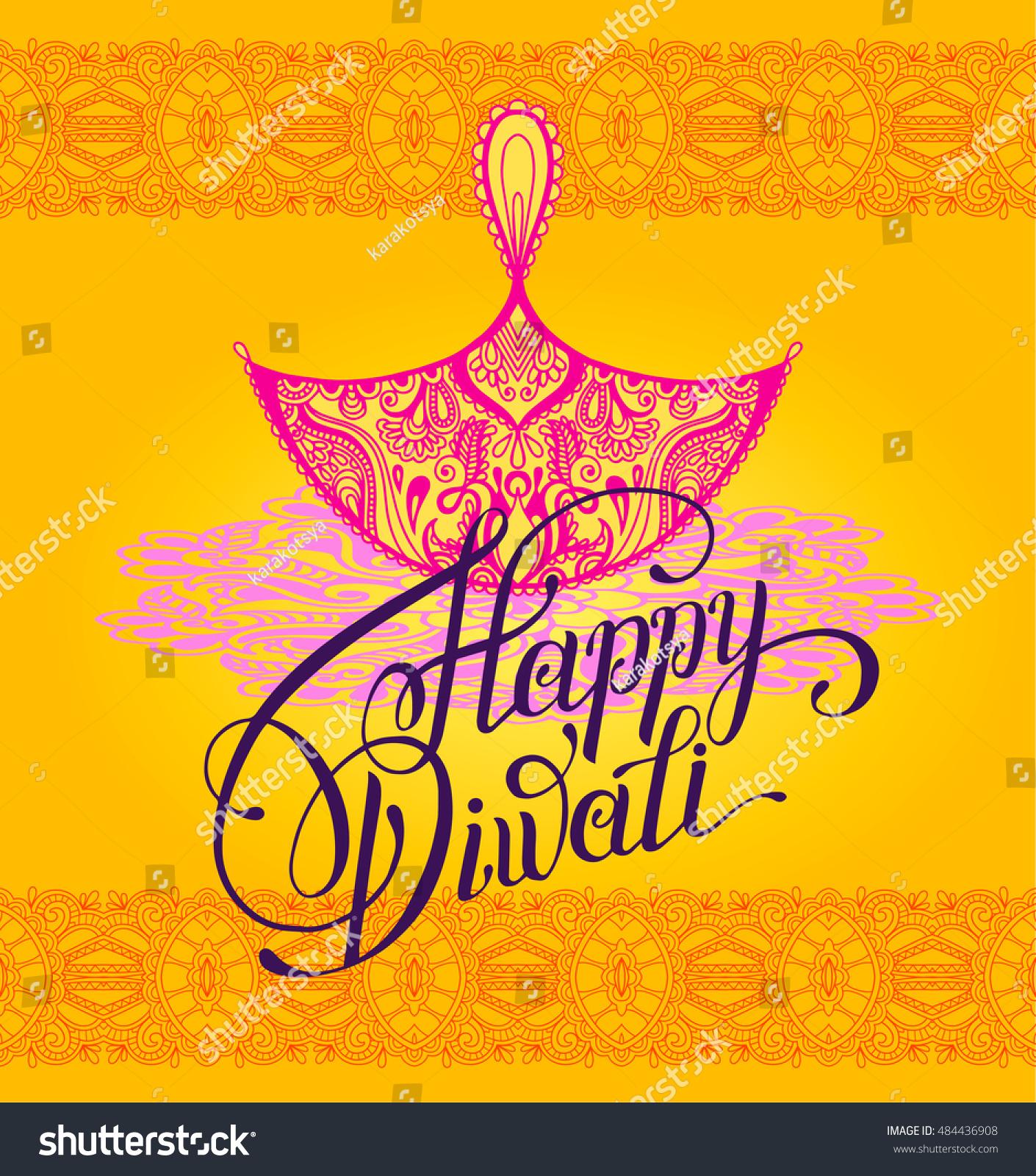 Happy diwali greeting card paisley ornamental stock vector 484436908 happy diwali greeting card paisley ornamental stock vector 484436908 shutterstock m4hsunfo