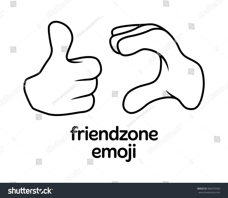 Friendzone sign symbol emoji emoticon emotion stock vector friendzone sign symbol emoji emoticon emotion relationship biocorpaavc