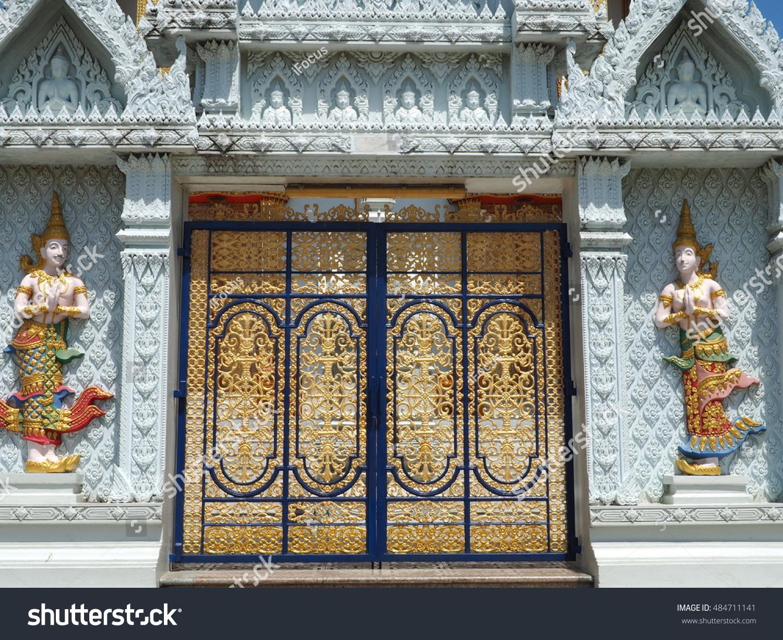 The temple's doors