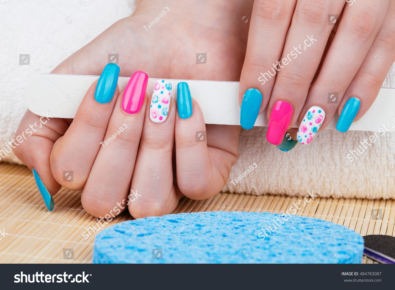 Manicure Beauty Photo Nice Manicured Woman Stock Photo (Royalty Free ...