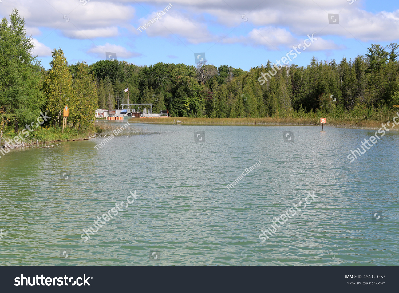 Michigan emmet county alanson - Beautiful Crooked River In Emmet County Michigan Near Alanson A Popular Waterway For Boating