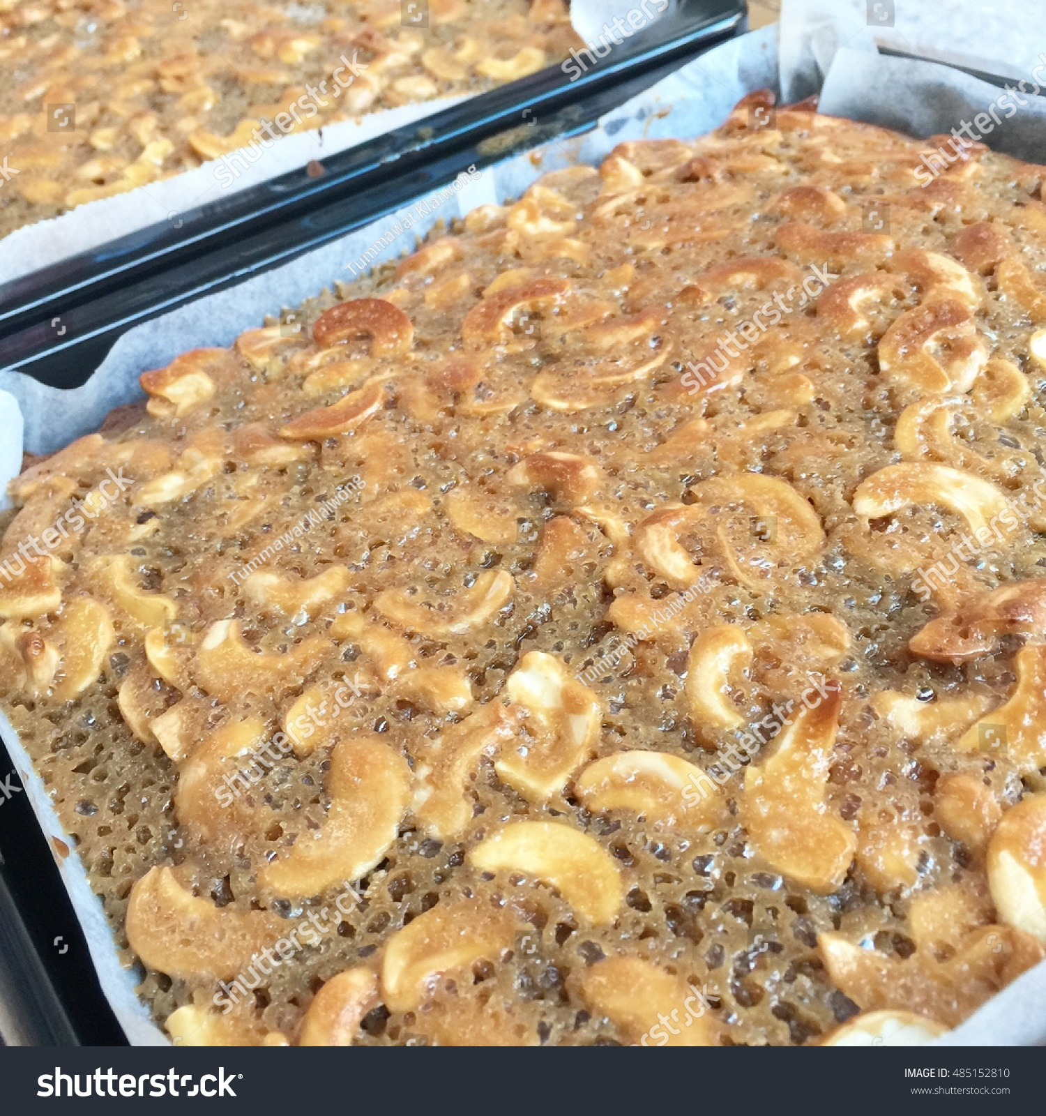 Toffee Cake Tray Bake