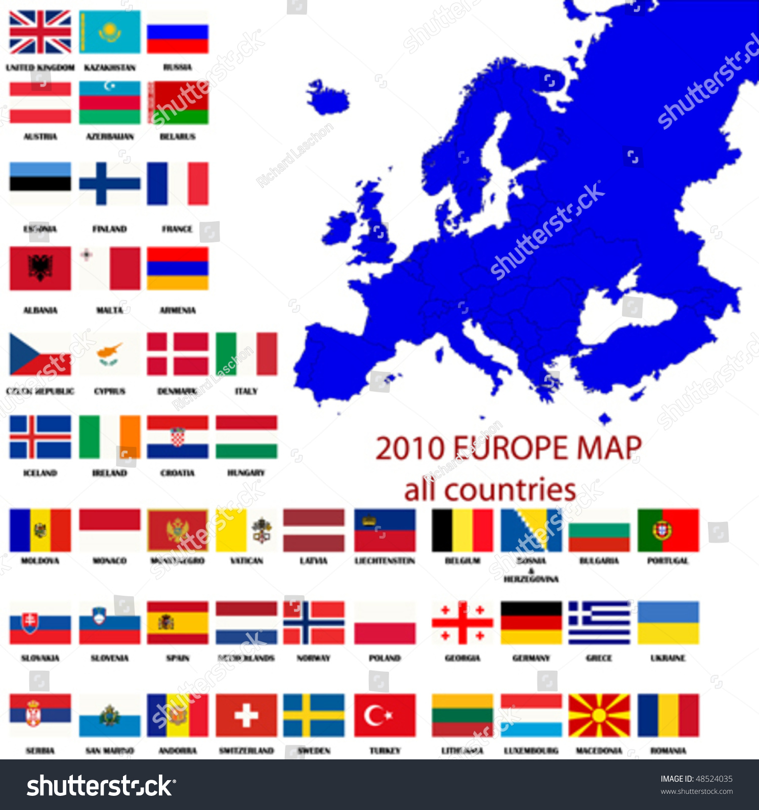 Map Of All Europe – Map of All Europe