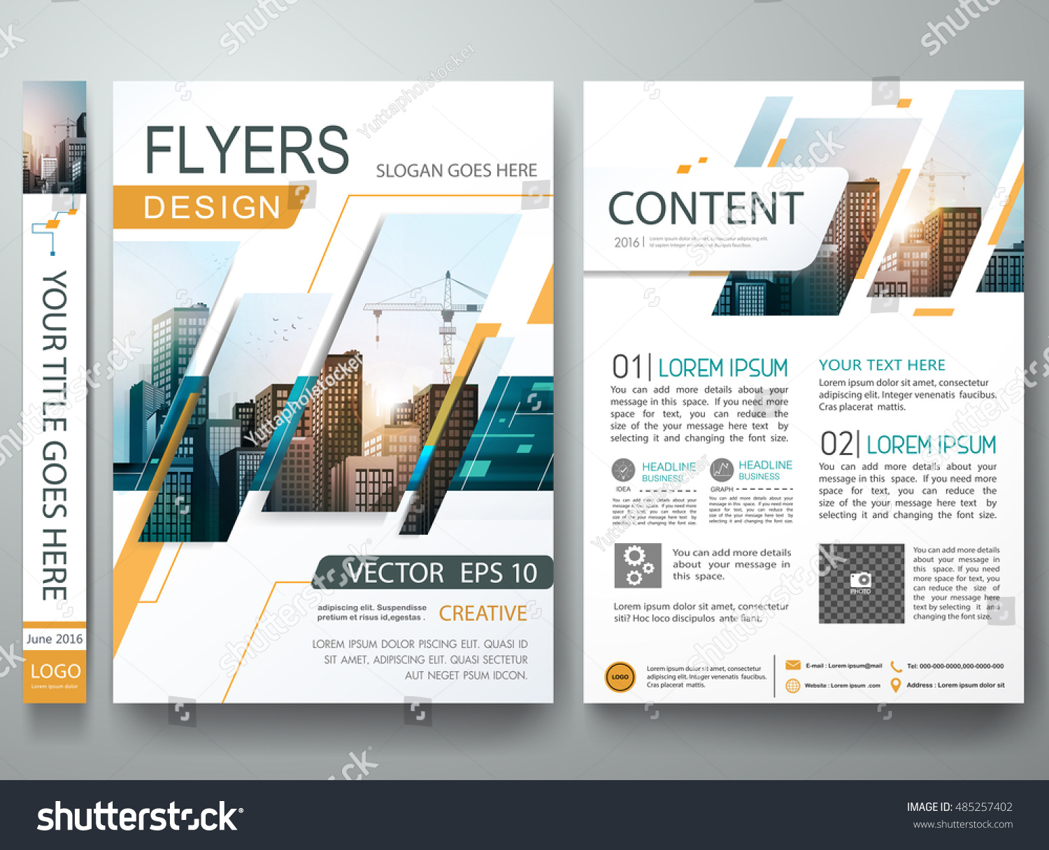 Poster design portfolio - Brochure Design Template Vector Flyers Report Business Magazine Poster Minimal Portfolio Abstract Square In