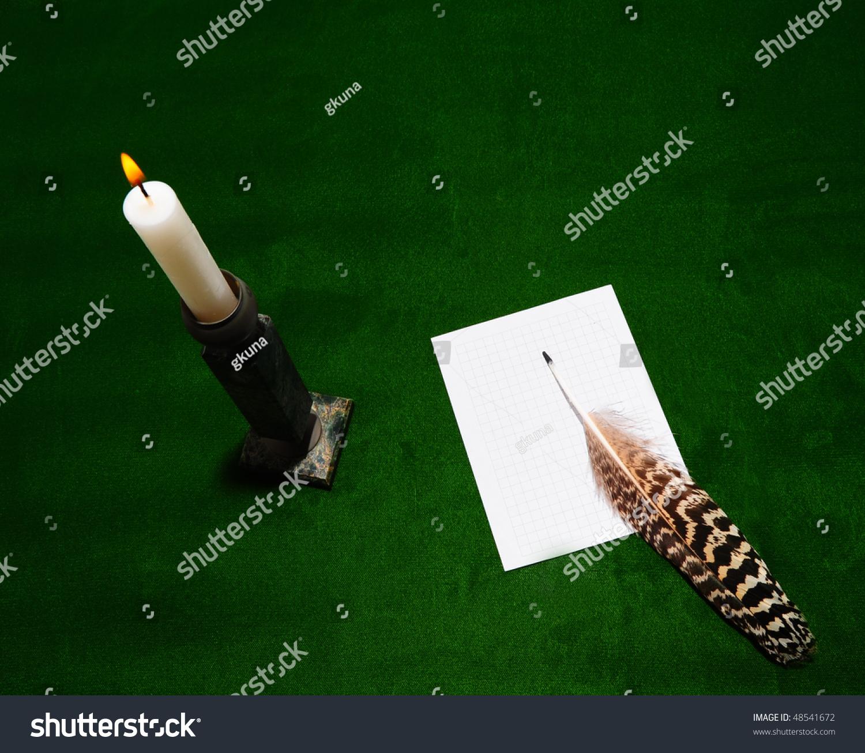 essay on burning candle