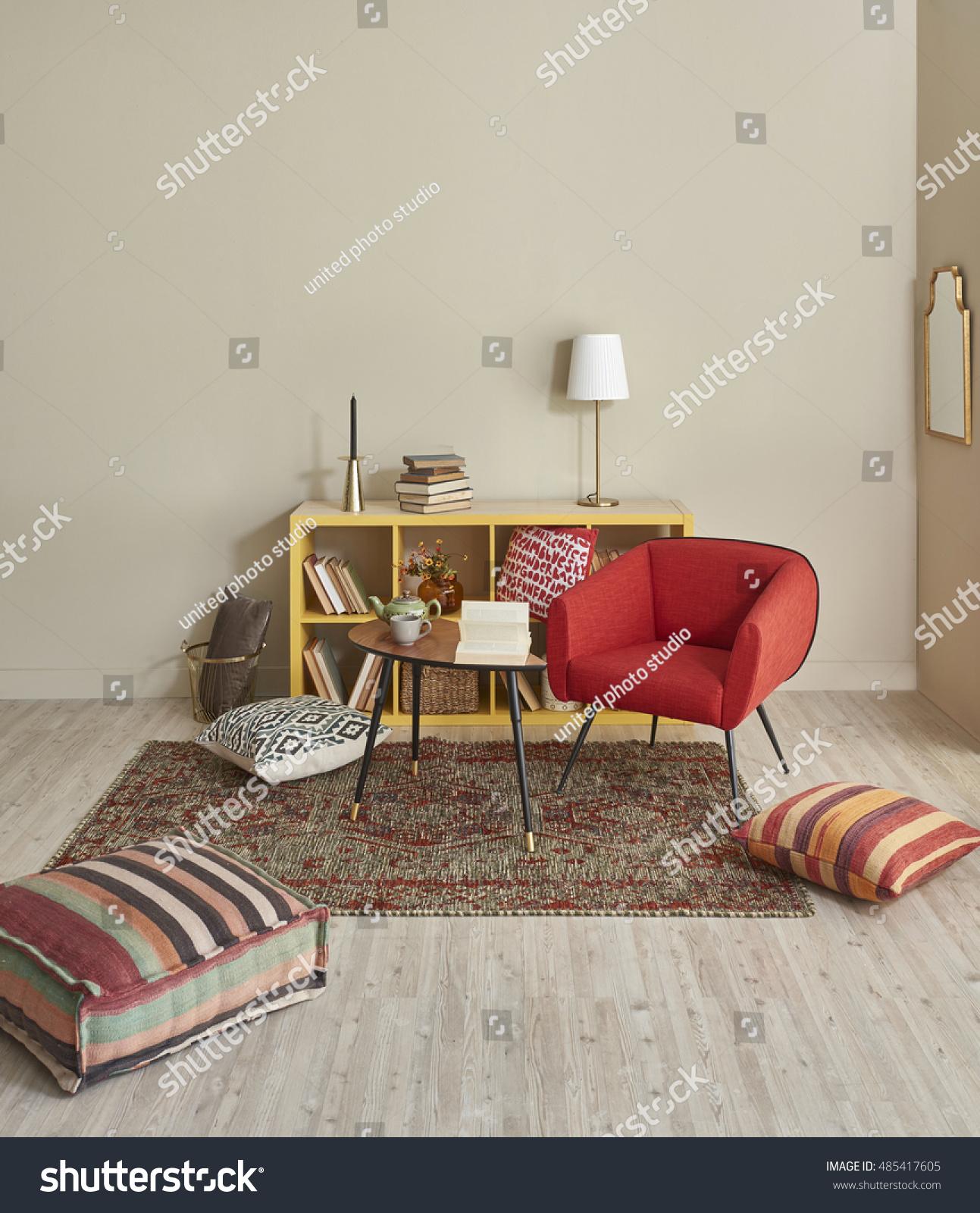 Modern interior room nice furniture inside stock photo for Nice furniture