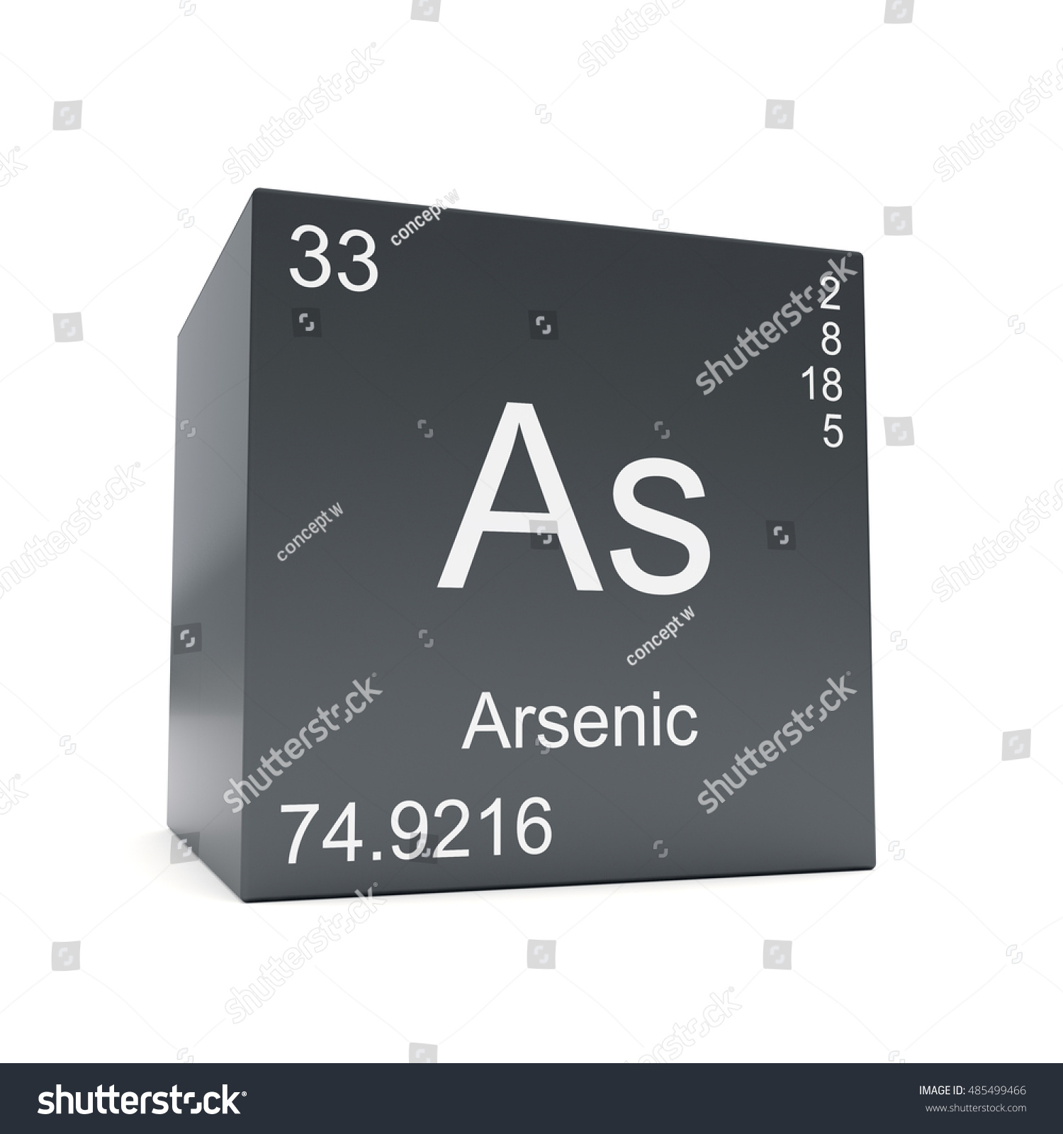 Arsenic chemical element symbol periodic table stock illustration arsenic chemical element symbol from the periodic table displayed on black cube 3d render biocorpaavc Image collections