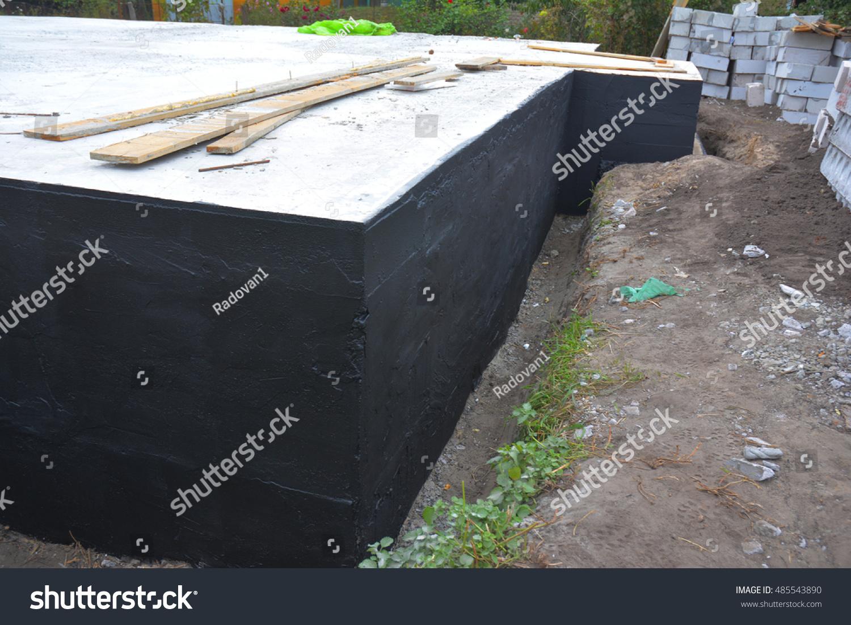 Waterproofing Foundation Bitumen Foundation Waterproofing