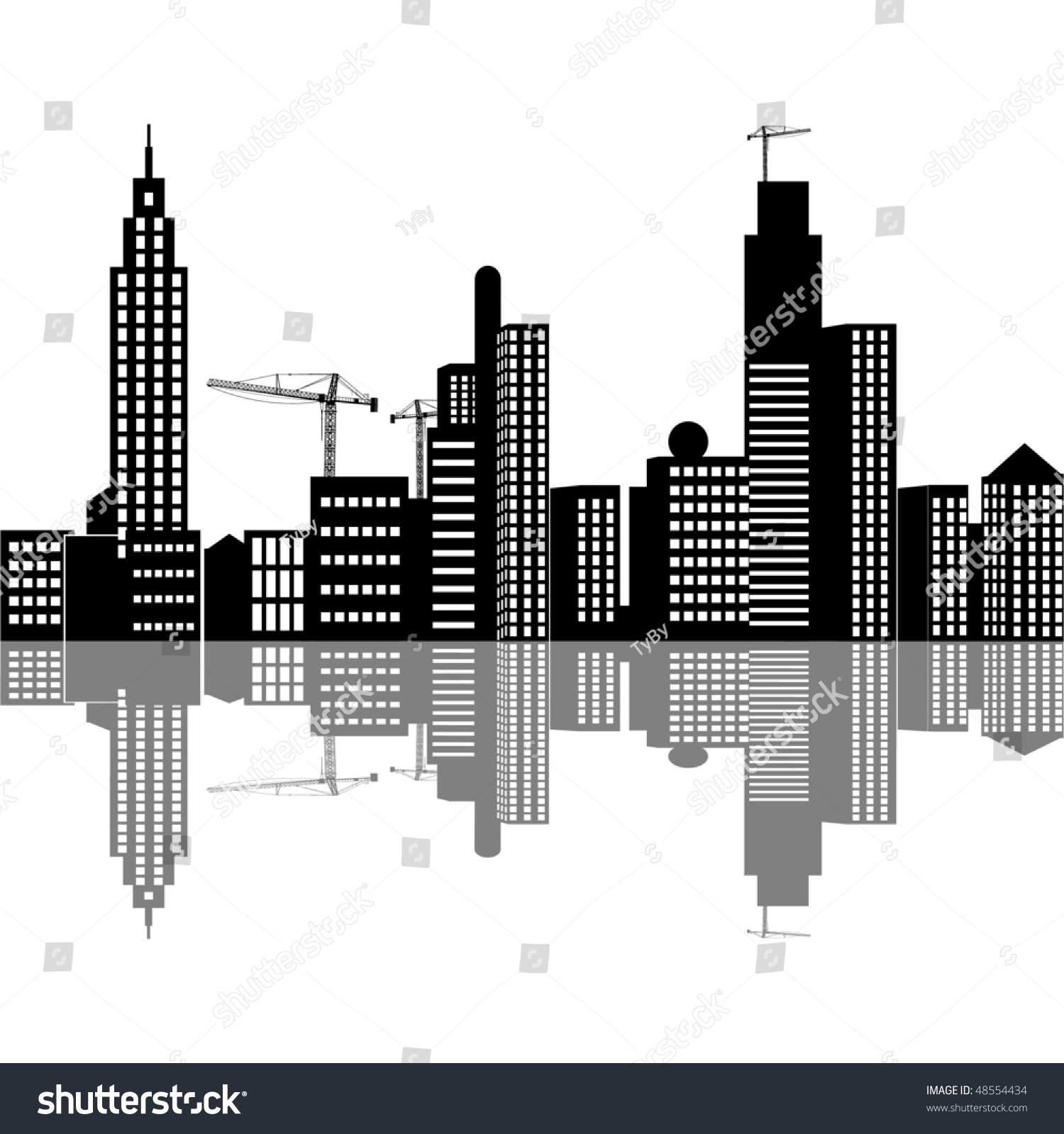 City Under Construction Stock Photo - Download Image Now ... |City Under Construction