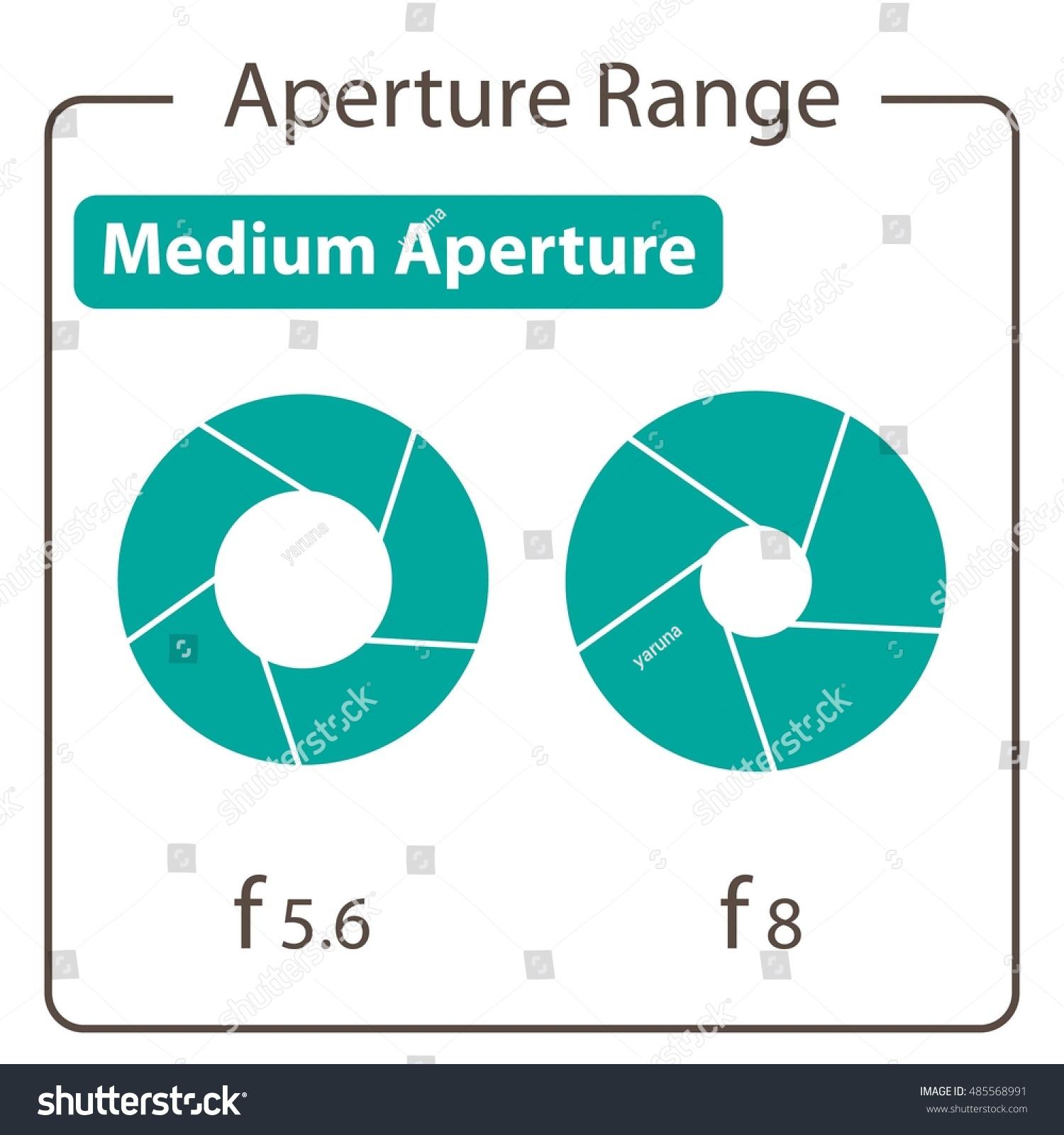 Medium aperture stock vector 485568991 shutterstock medium aperture pooptronica Images