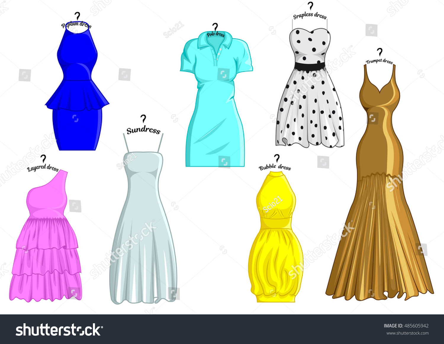 Old style dress names styles
