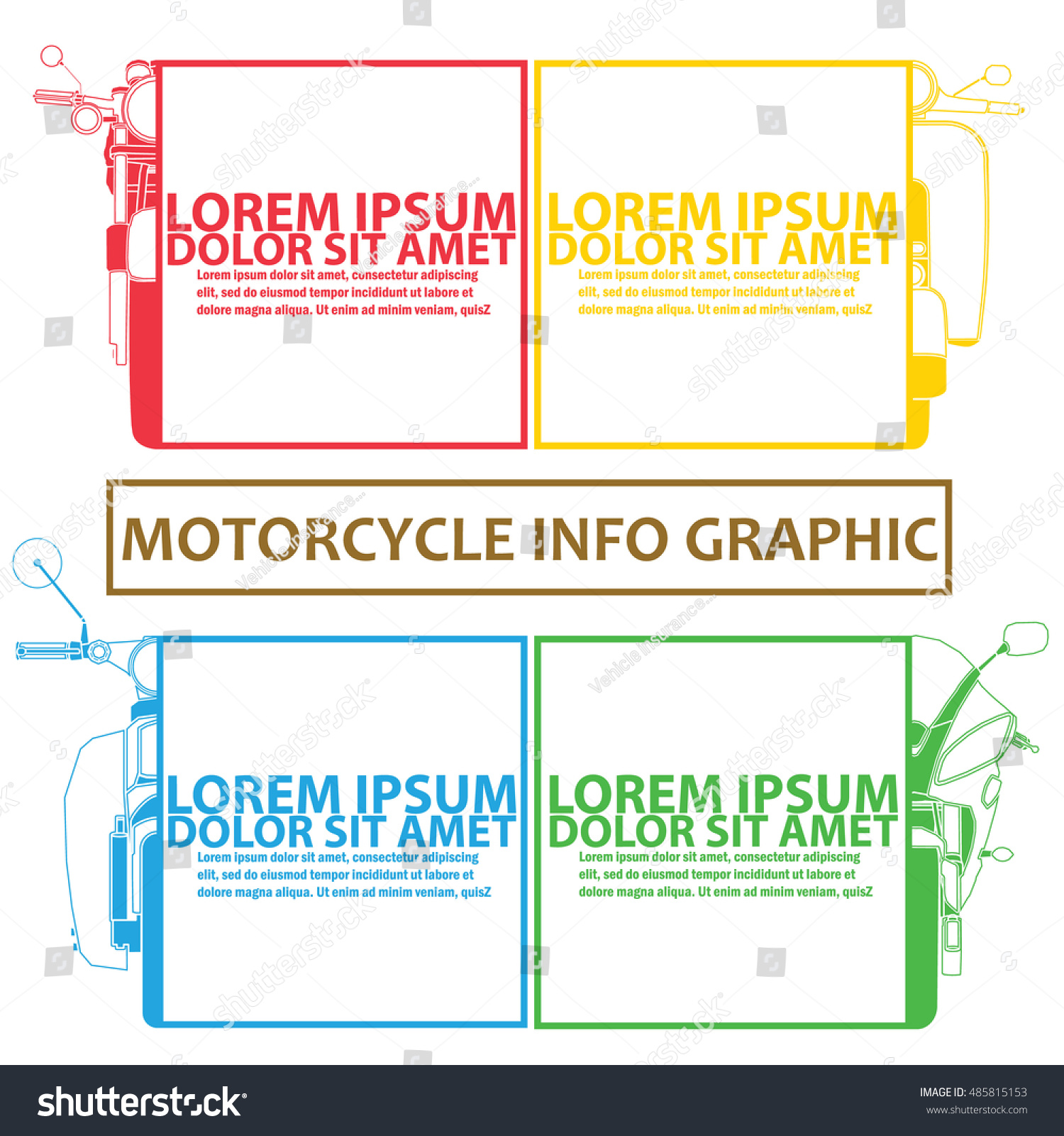 Chart motorbike color tab template refill stock vector 485815153 chart of motorbike and color tab as a template to refill your theory vector style nvjuhfo Choice Image