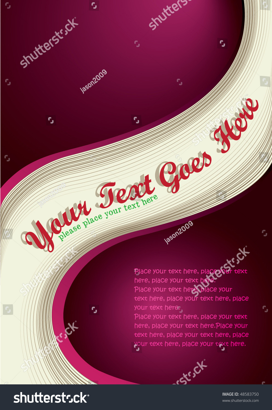covertemplate sets stock vector shutterstock cover template sets 37