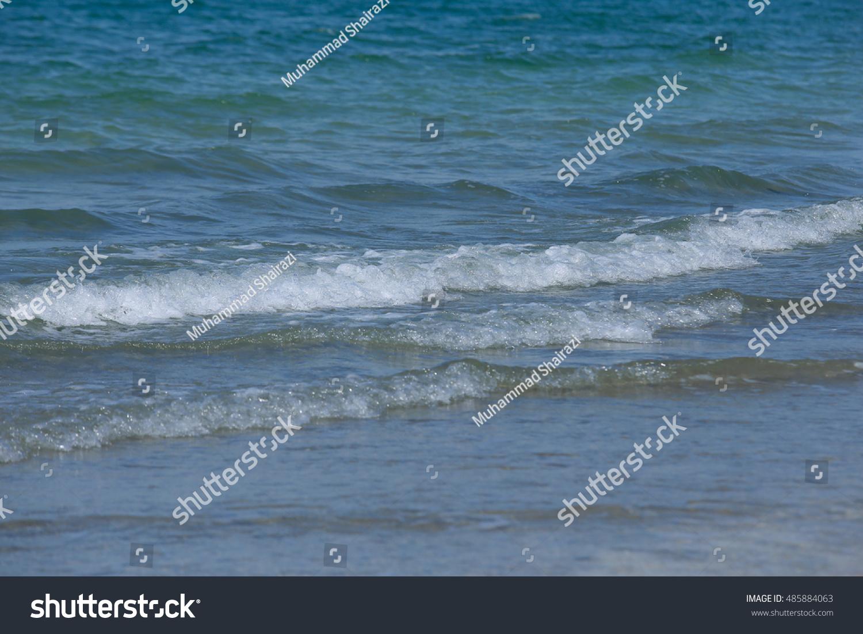 Nice Sea View Taken Air Papan Stock Photo 485884063