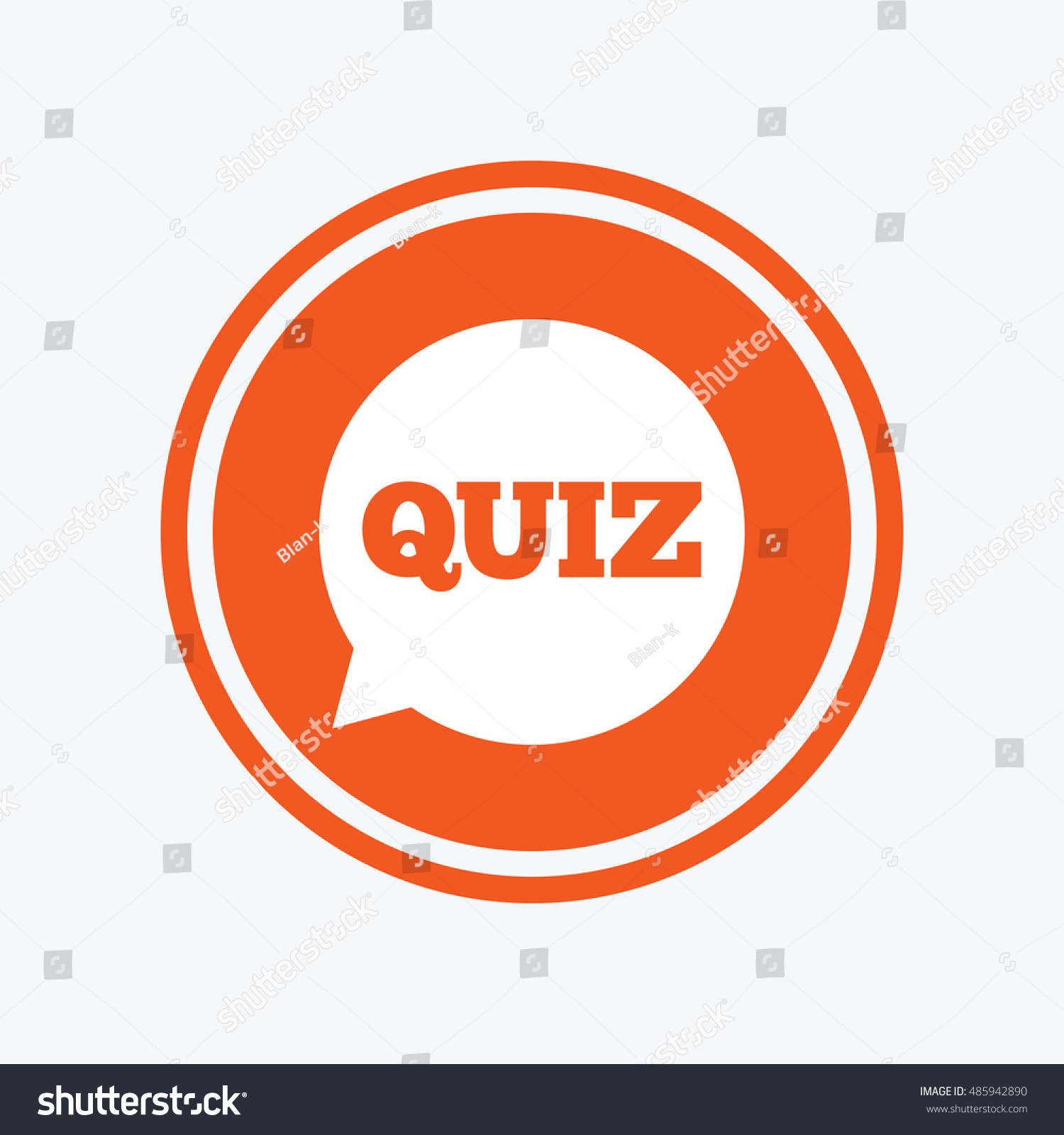 Quiz speech bubble sign icon questions stock vector 485942890 quiz speech bubble sign icon questions and answers game symbol graphic design element biocorpaavc Images