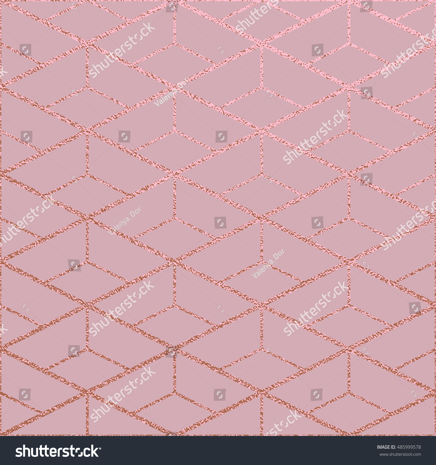Ice Cream Background Sparking Shiny Decoration Free Vector: Metallic Glossy Texture Rose Quartz Pattern Stock Vector