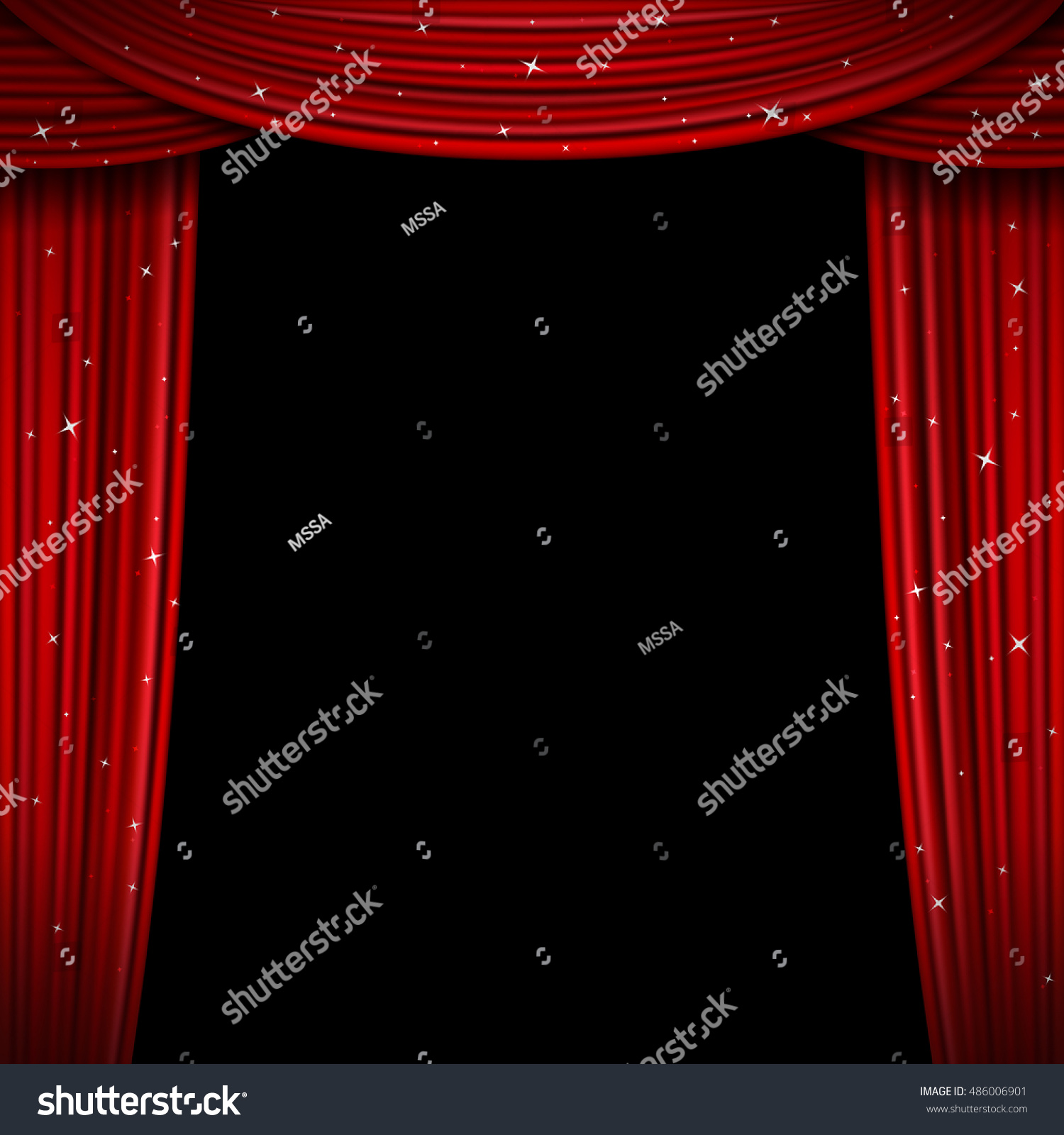 Blue stage curtains blue stage curtain vector free vector in - Glittering Red Curtain Vector Illustration Open Glitter Curtains Background Curtain For Exhibition And Theatre