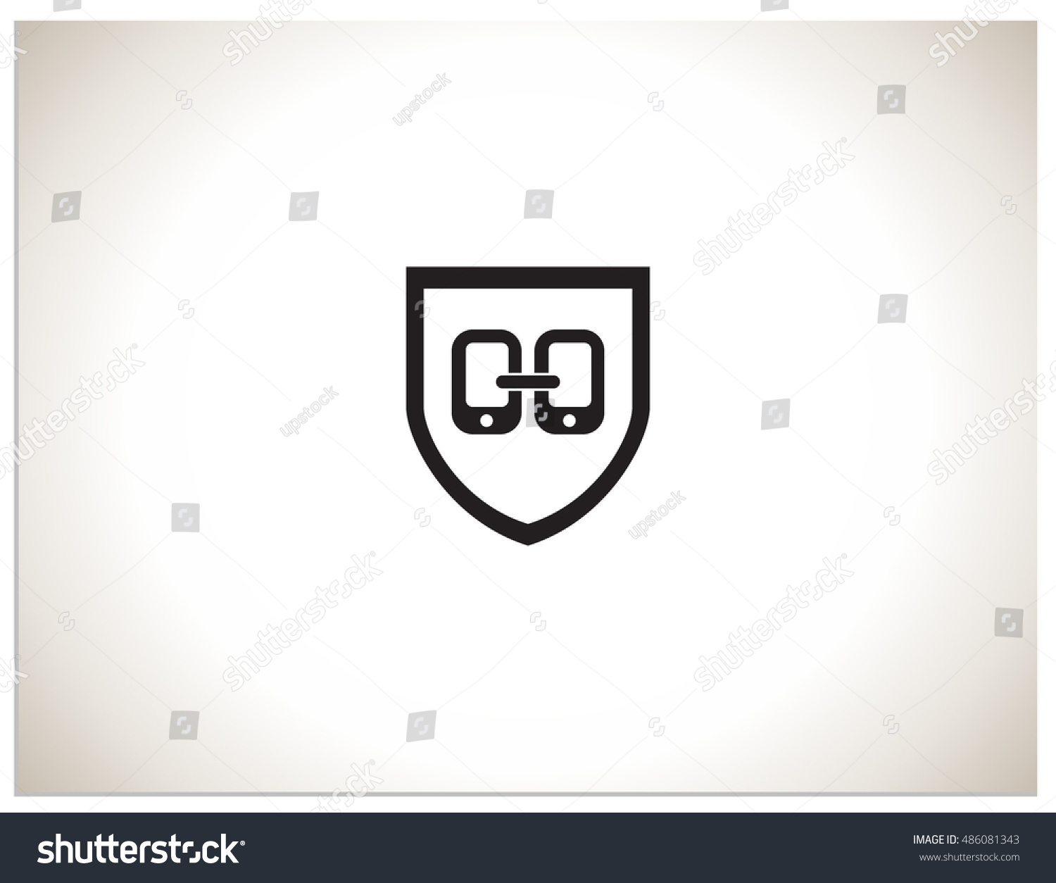 Isolated Vector Icon Logo Sign Symbol Stock Vector 486081343