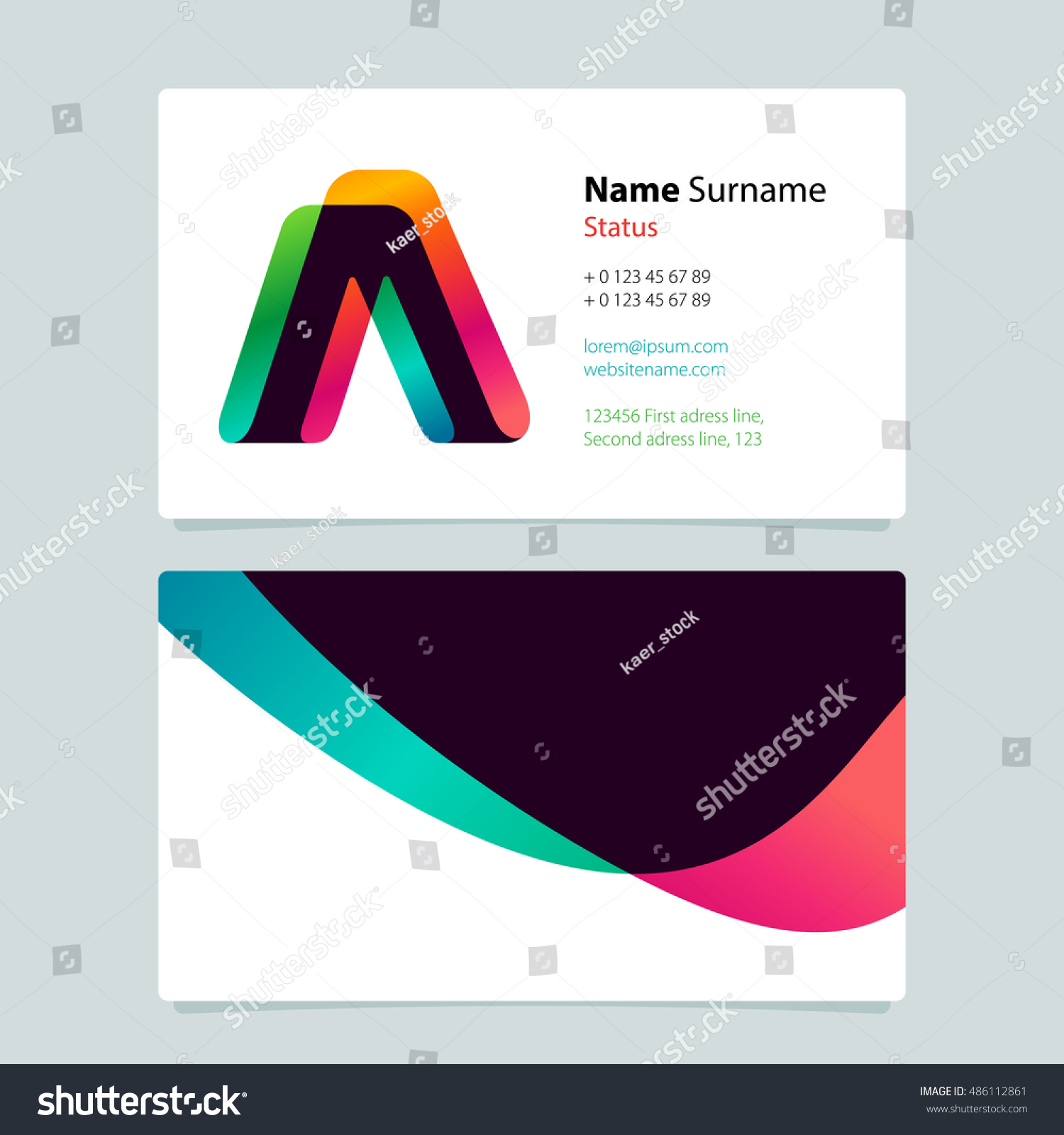 Colorful Business Cards Image collections - Free Business Cards